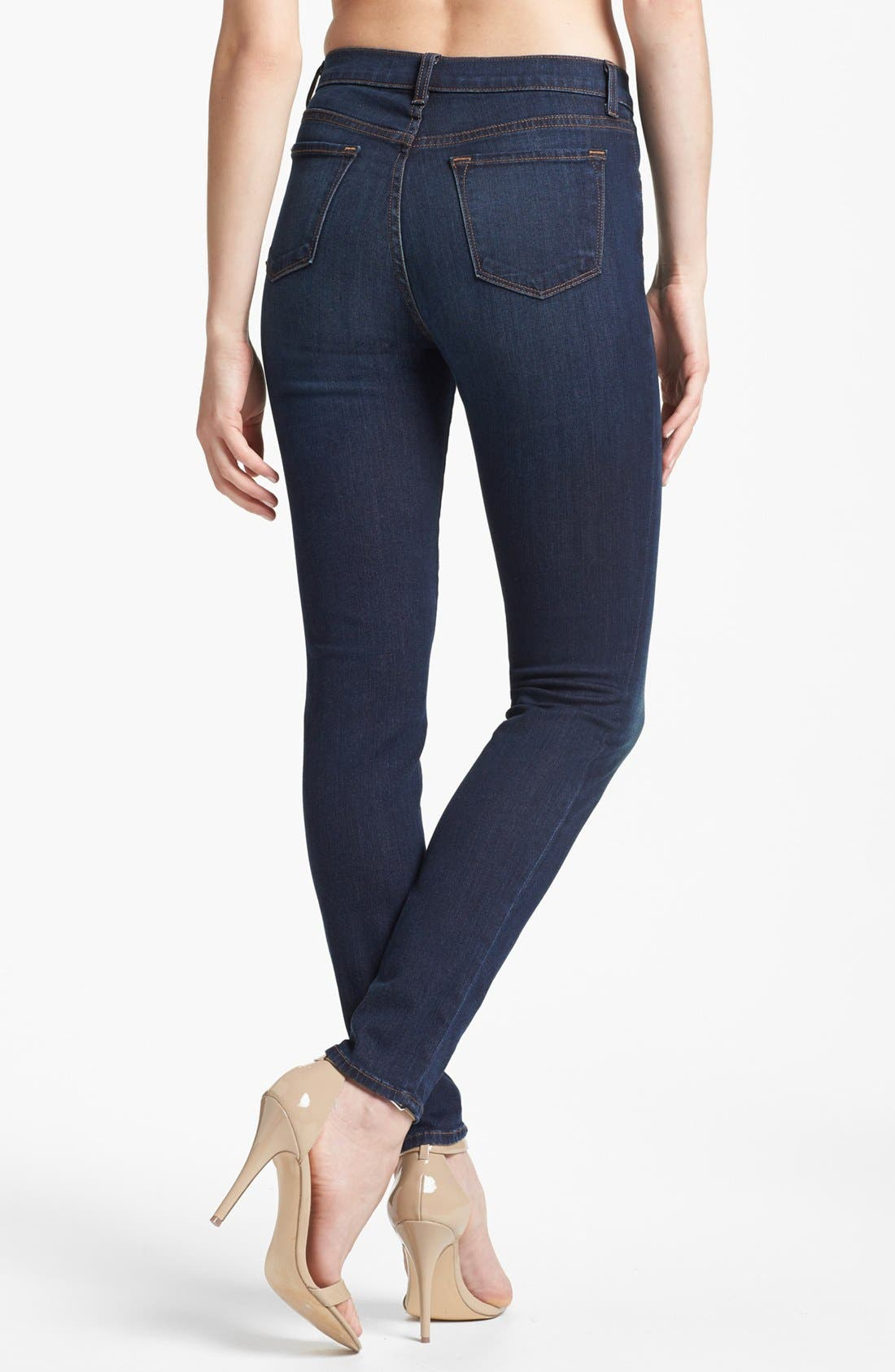 '2311 Maria' High Rise Jeans,                             Alternate thumbnail 3, color,                             410
