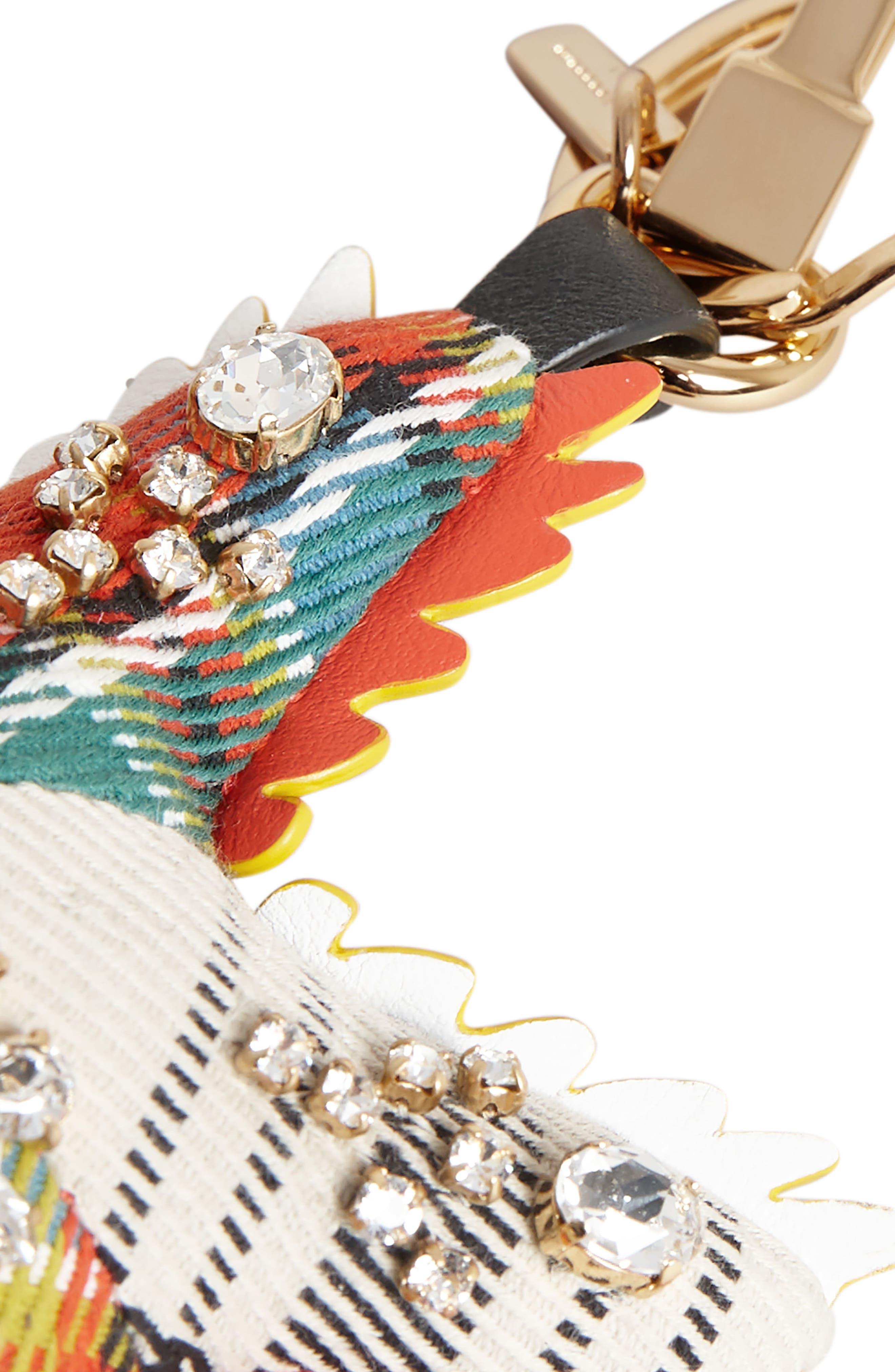 Phil the Starfish Cashmere Bag Charm,                             Alternate thumbnail 3, color,                             801