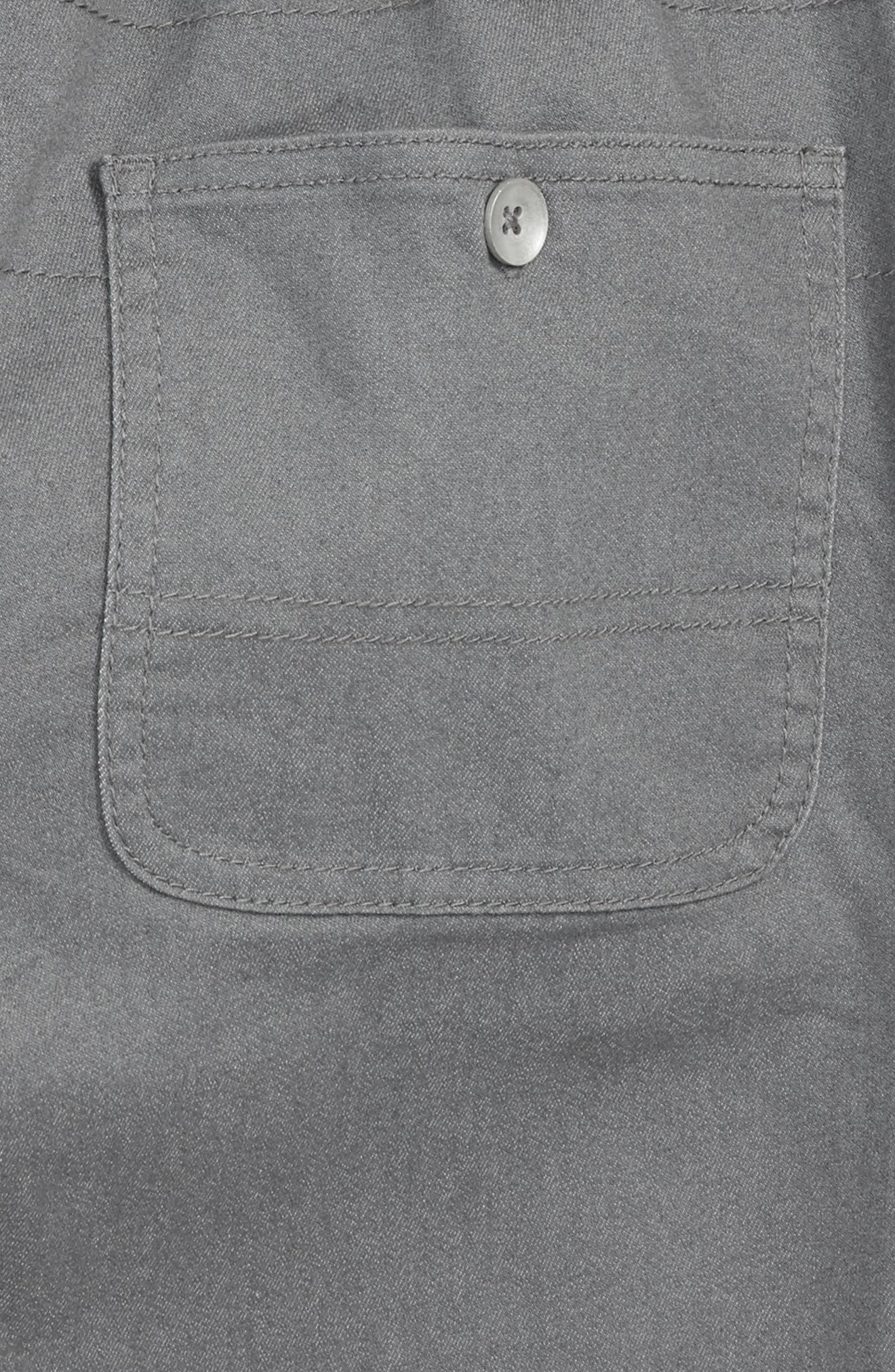 TREASURE & BOND,                             Twill Shorts,                             Alternate thumbnail 3, color,                             021