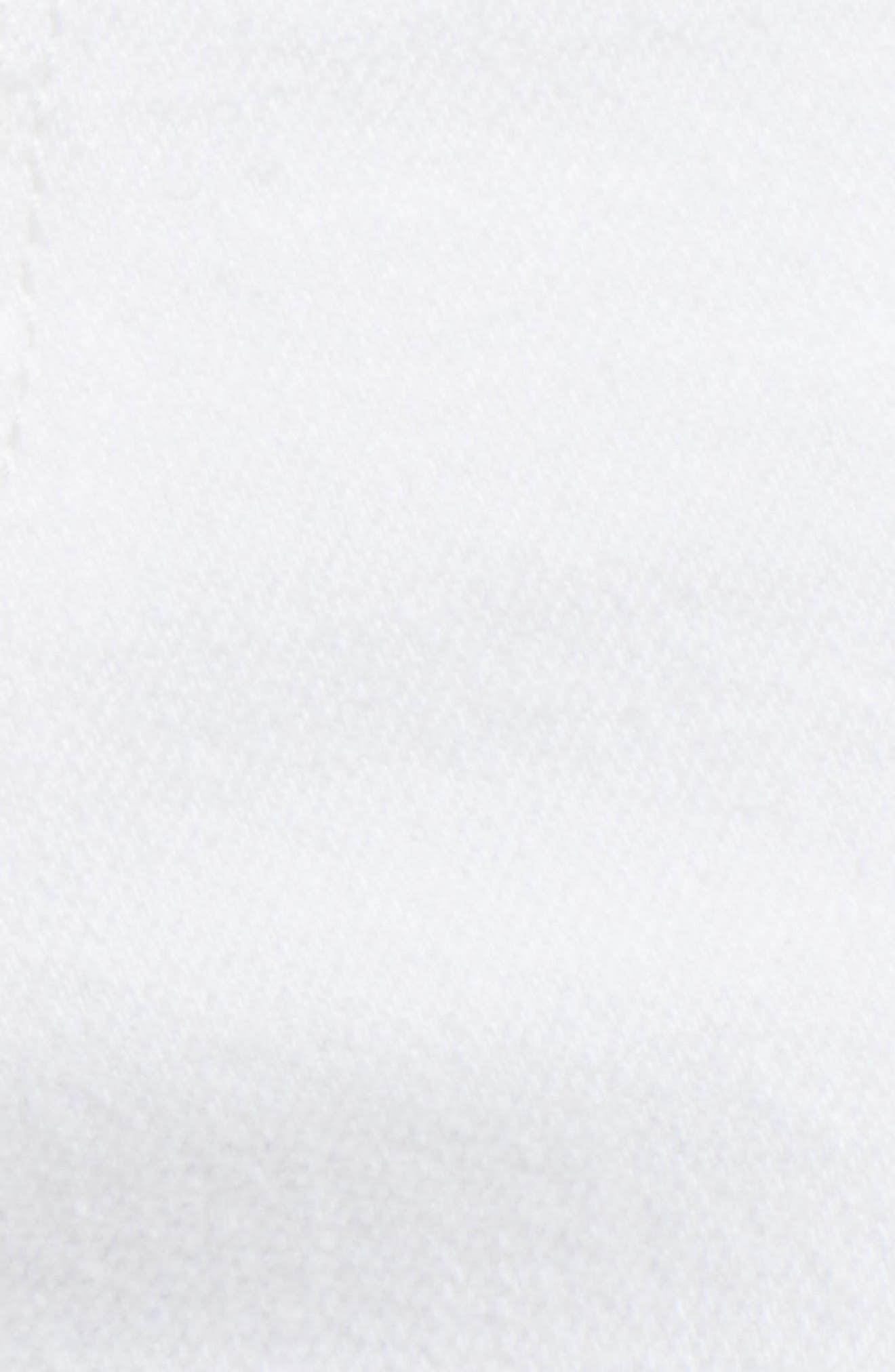 Zoeey Pintuck High Waist Crop Straight Leg Jeans,                             Alternate thumbnail 6, color,                             120