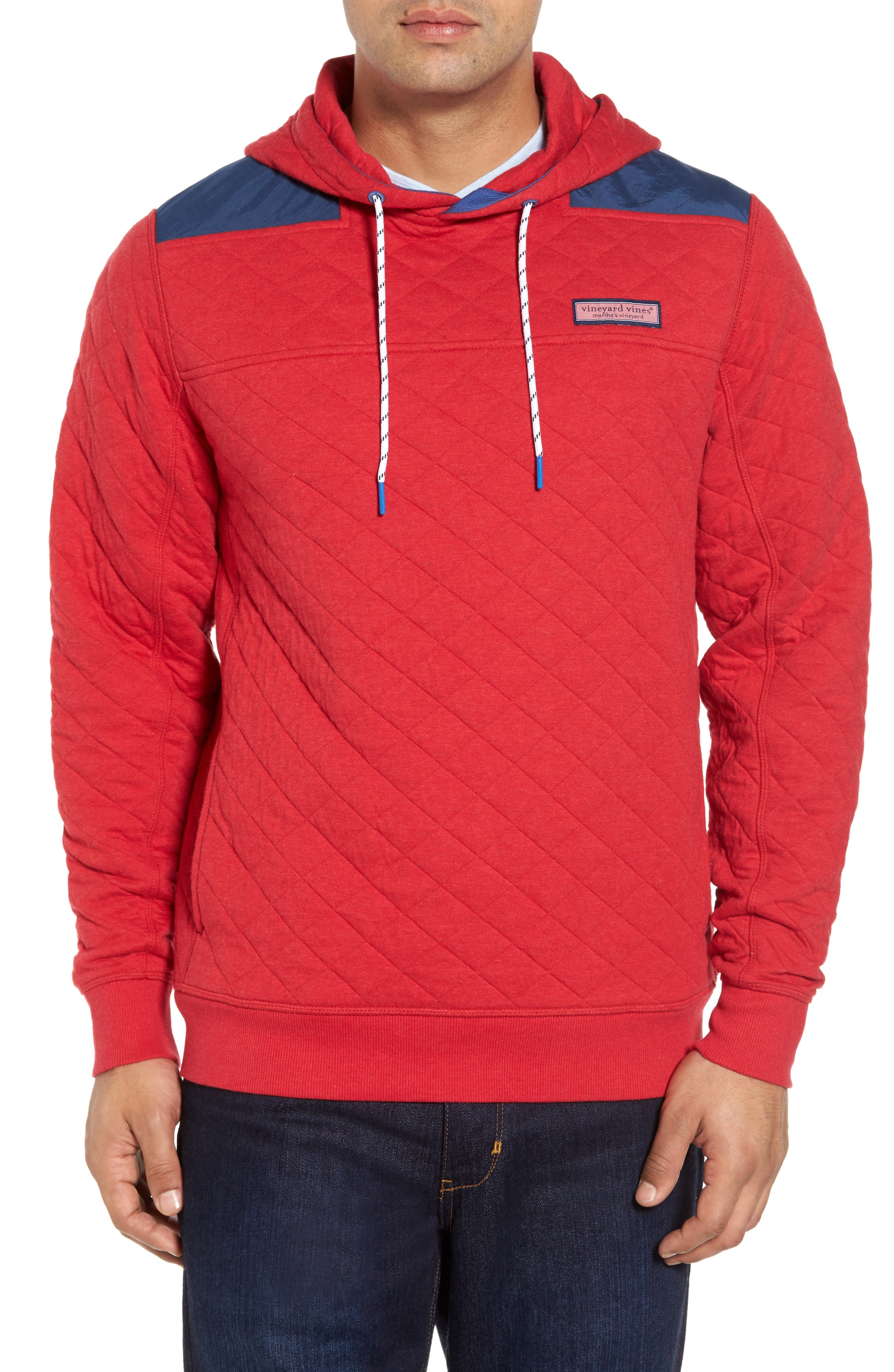 Shep Quilted Hoodie,                         Main,                         color, 639