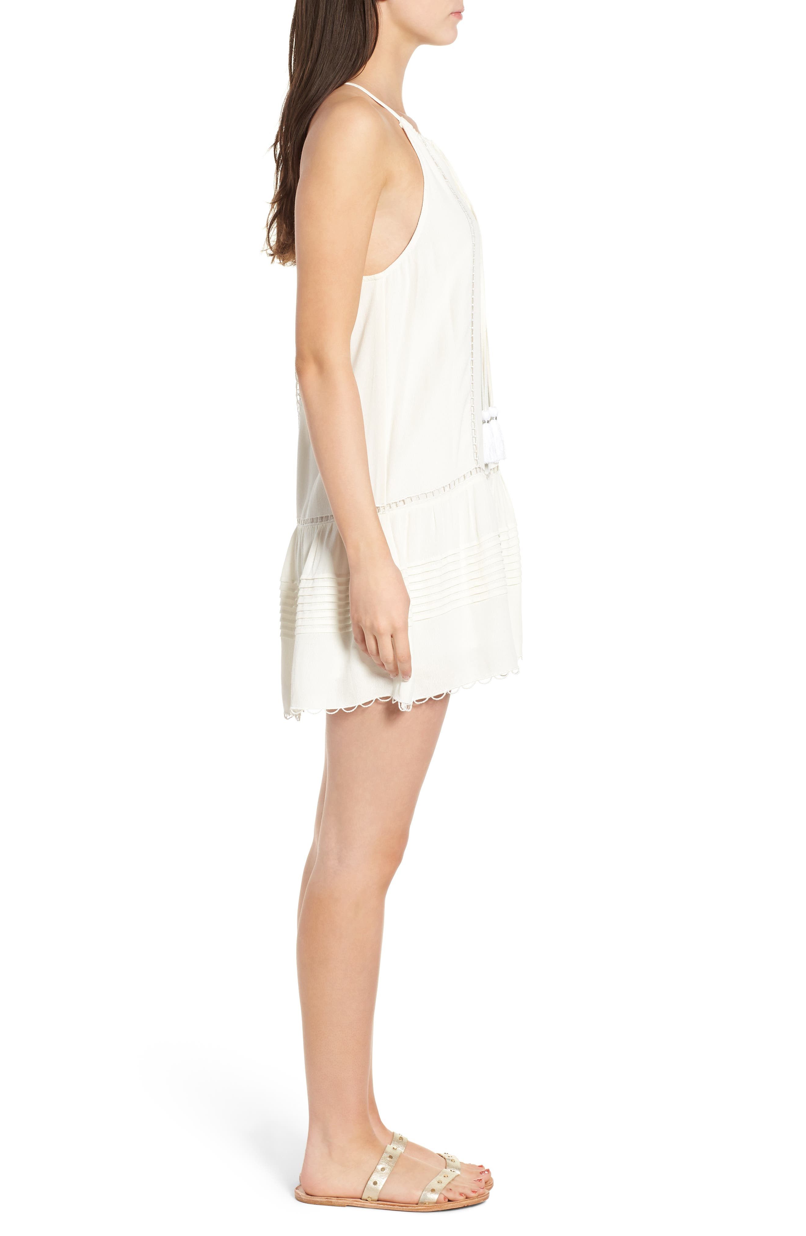 Sincerely Embroidered Minidress,                             Alternate thumbnail 3, color,                             900