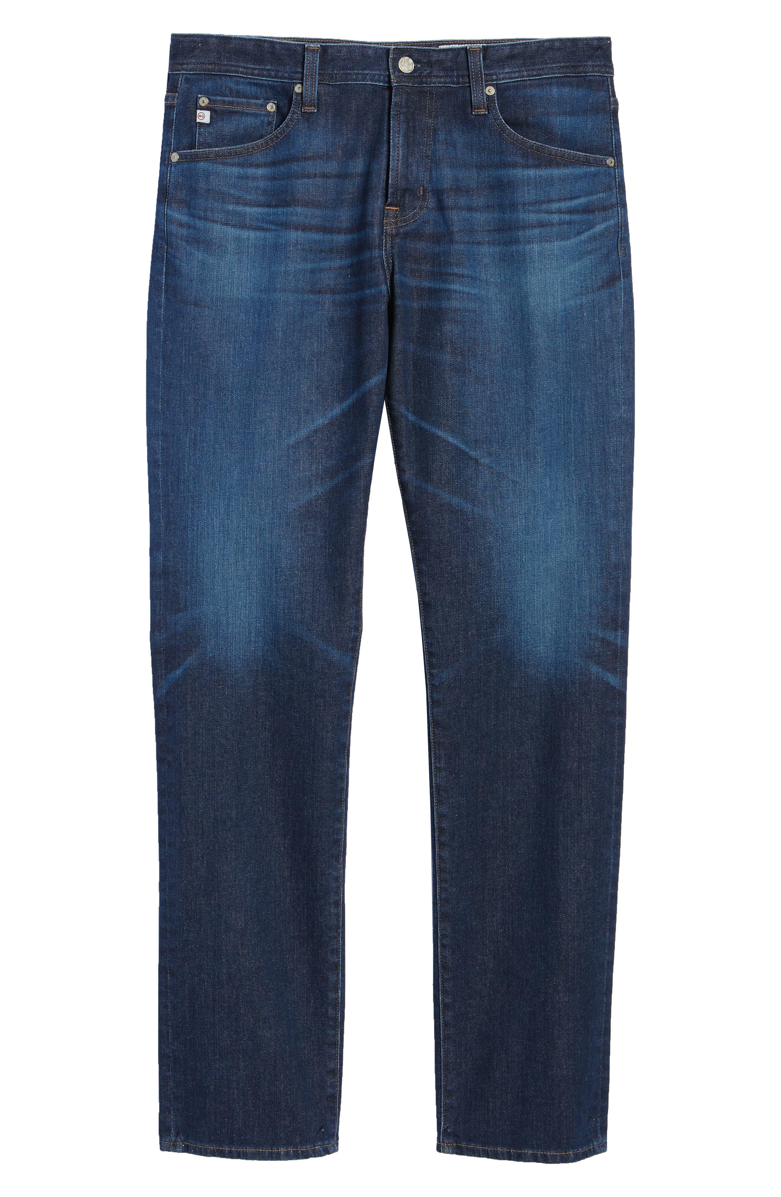 Graduate Slim Straight Fit Jeans,                             Alternate thumbnail 6, color,                             5 YEARS LOST COAST