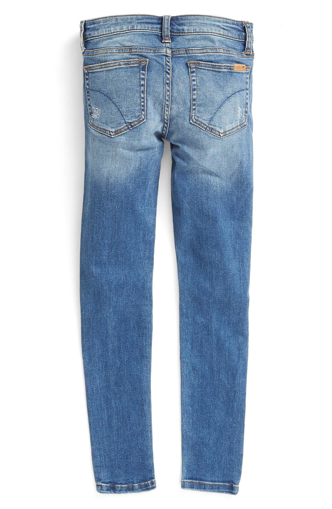 'Dawn' Distressed Jeans,                             Alternate thumbnail 2, color,                             456