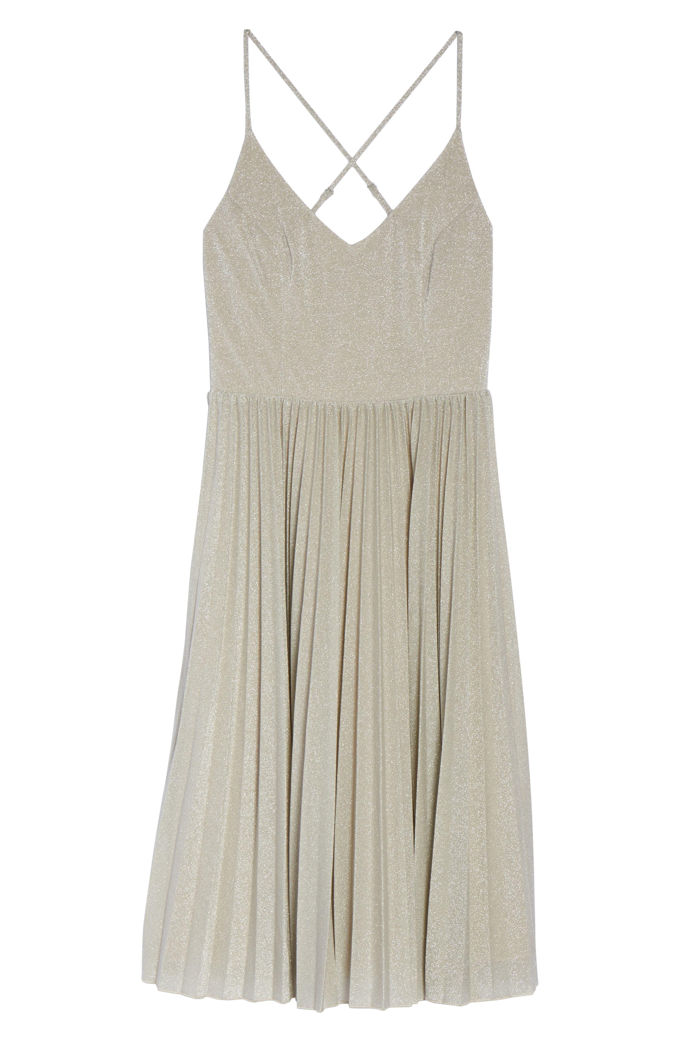 Jolene Fit & Flare Dress,                             Alternate thumbnail 6, color,                             024