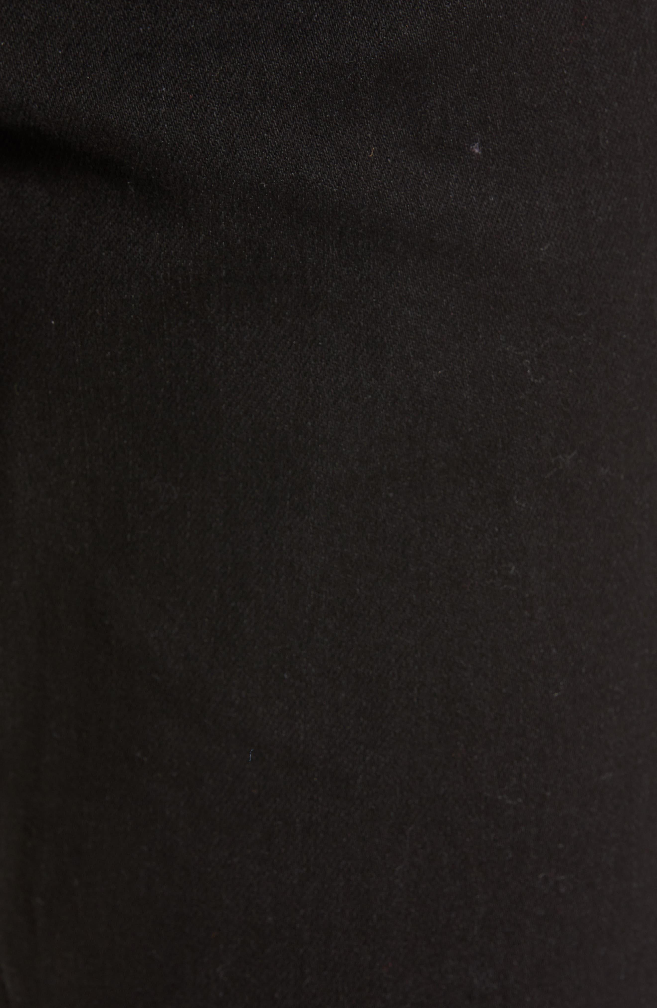 'Vorta' Slim Fit Jeans,                             Alternate thumbnail 5, color,                             BLACK OUT