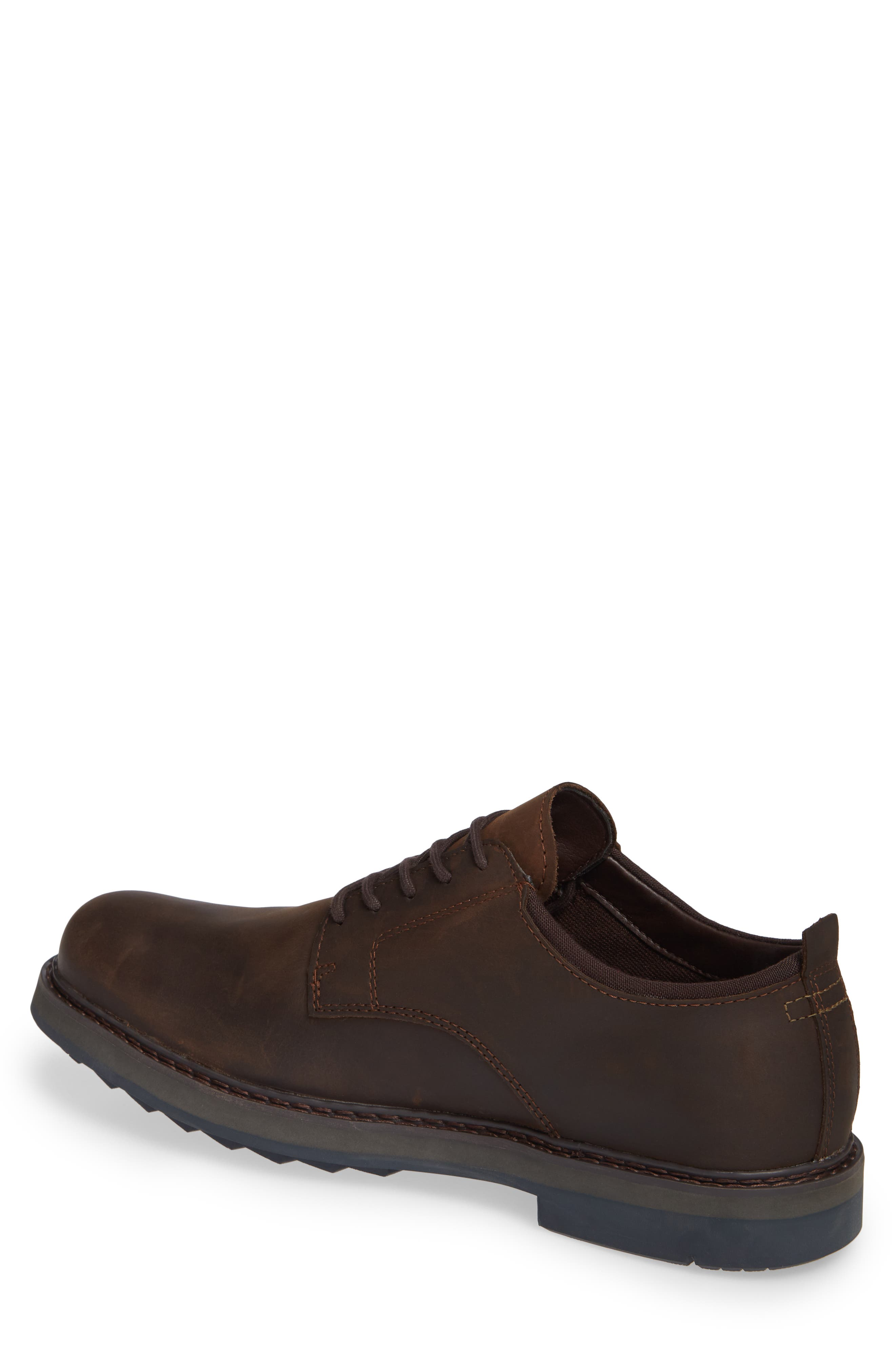 Squall Canyon Waterproof Plain Toe Derby,                             Alternate thumbnail 2, color,                             BROWN LEATHER