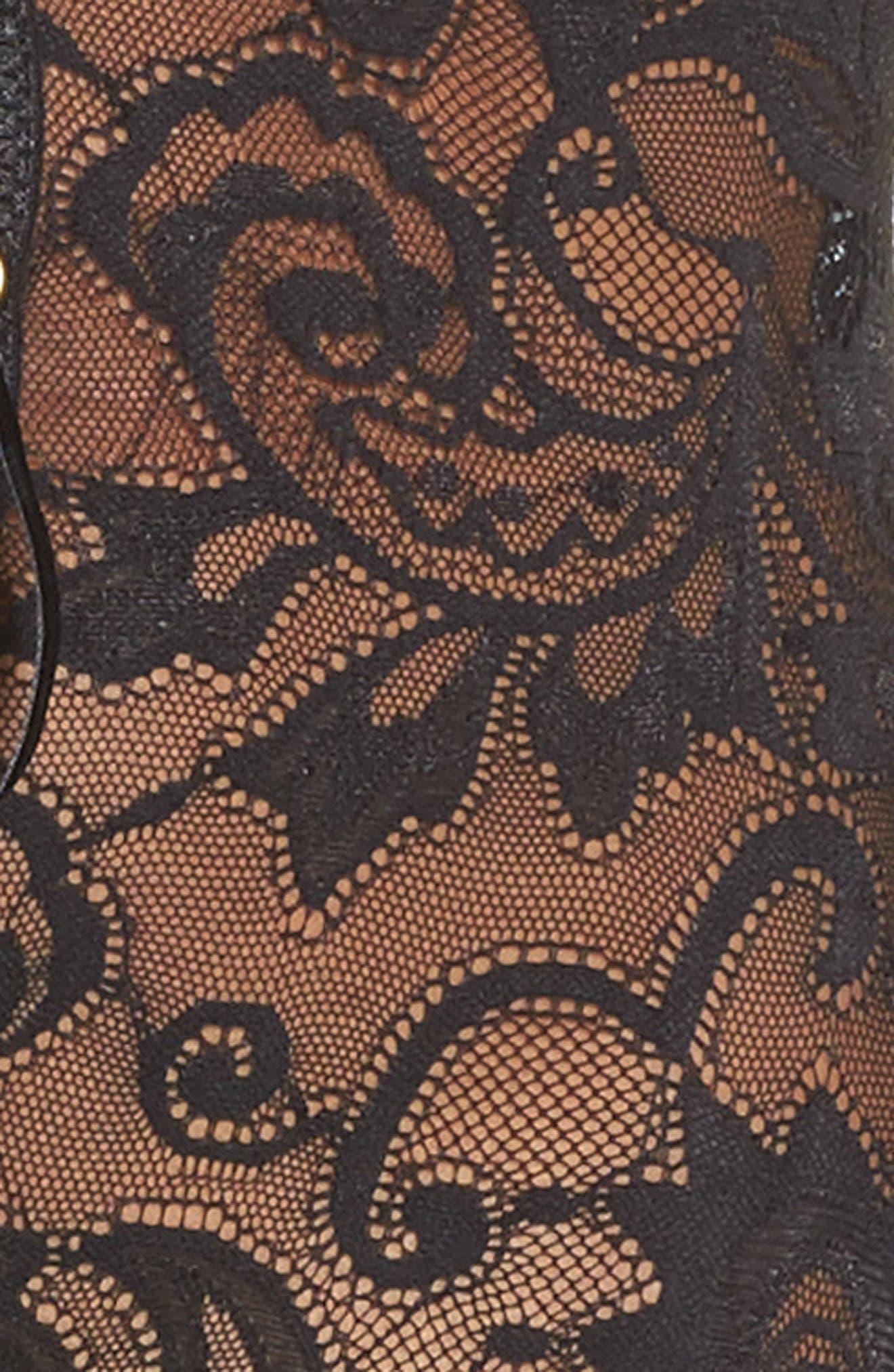 Monarch Lace-Up Bodysuit,                             Alternate thumbnail 5, color,