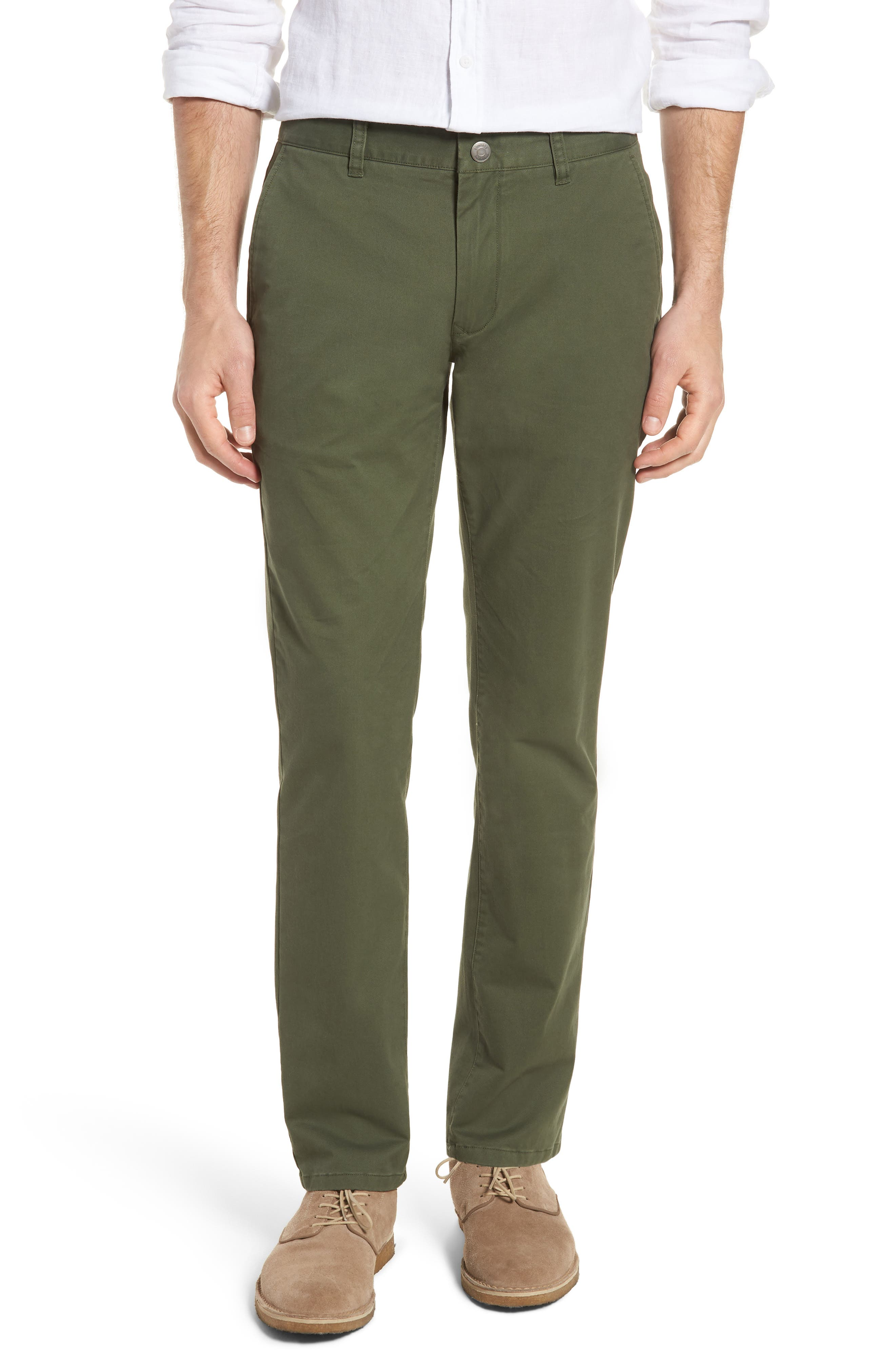 Tailored Fit Washed Stretch Cotton Chinos,                             Main thumbnail 8, color,