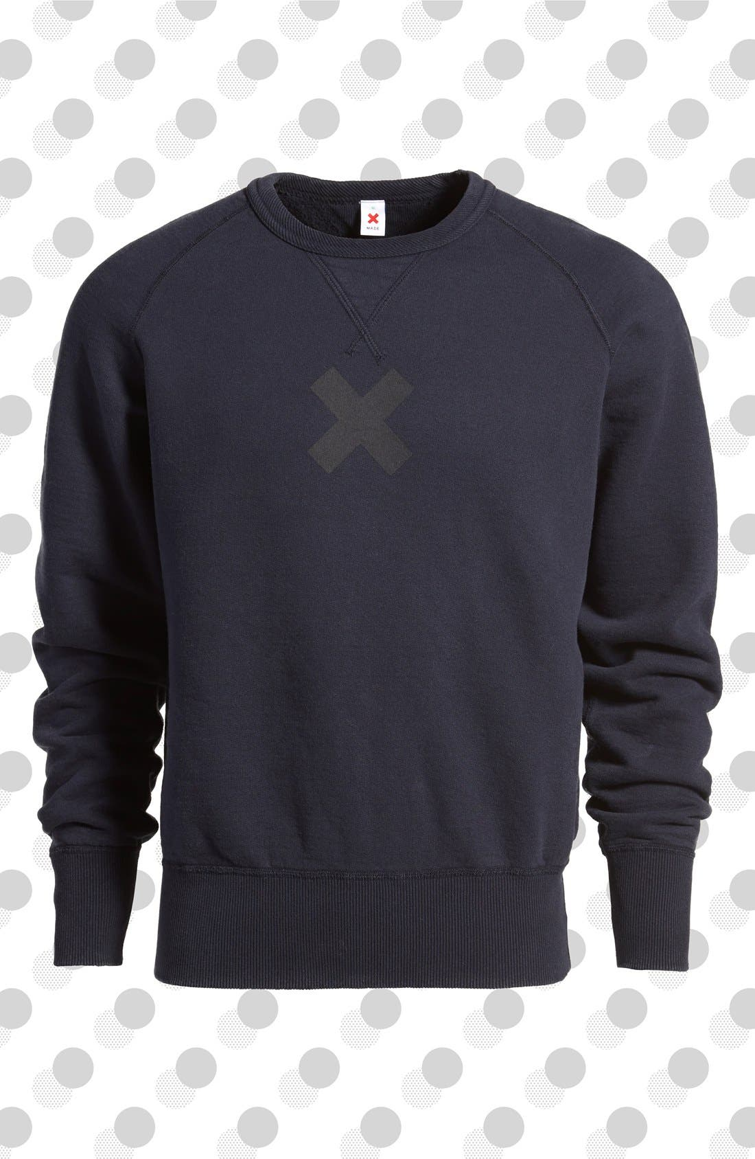 BEST MADE CO. Best Made Co '20 oz. Standard' Sweatshirt, Main, color, 400