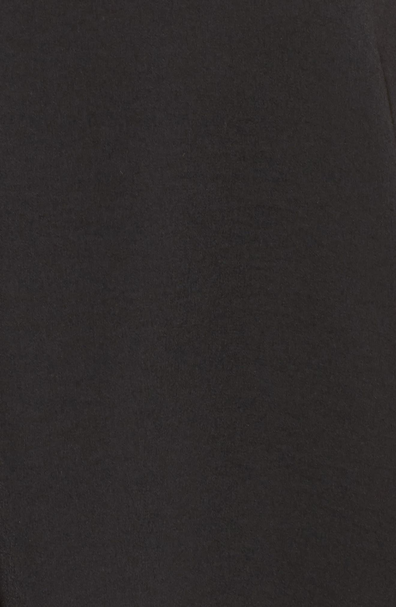 Washed Satin Short Pajamas & Eye Mask,                             Alternate thumbnail 5, color,                             001