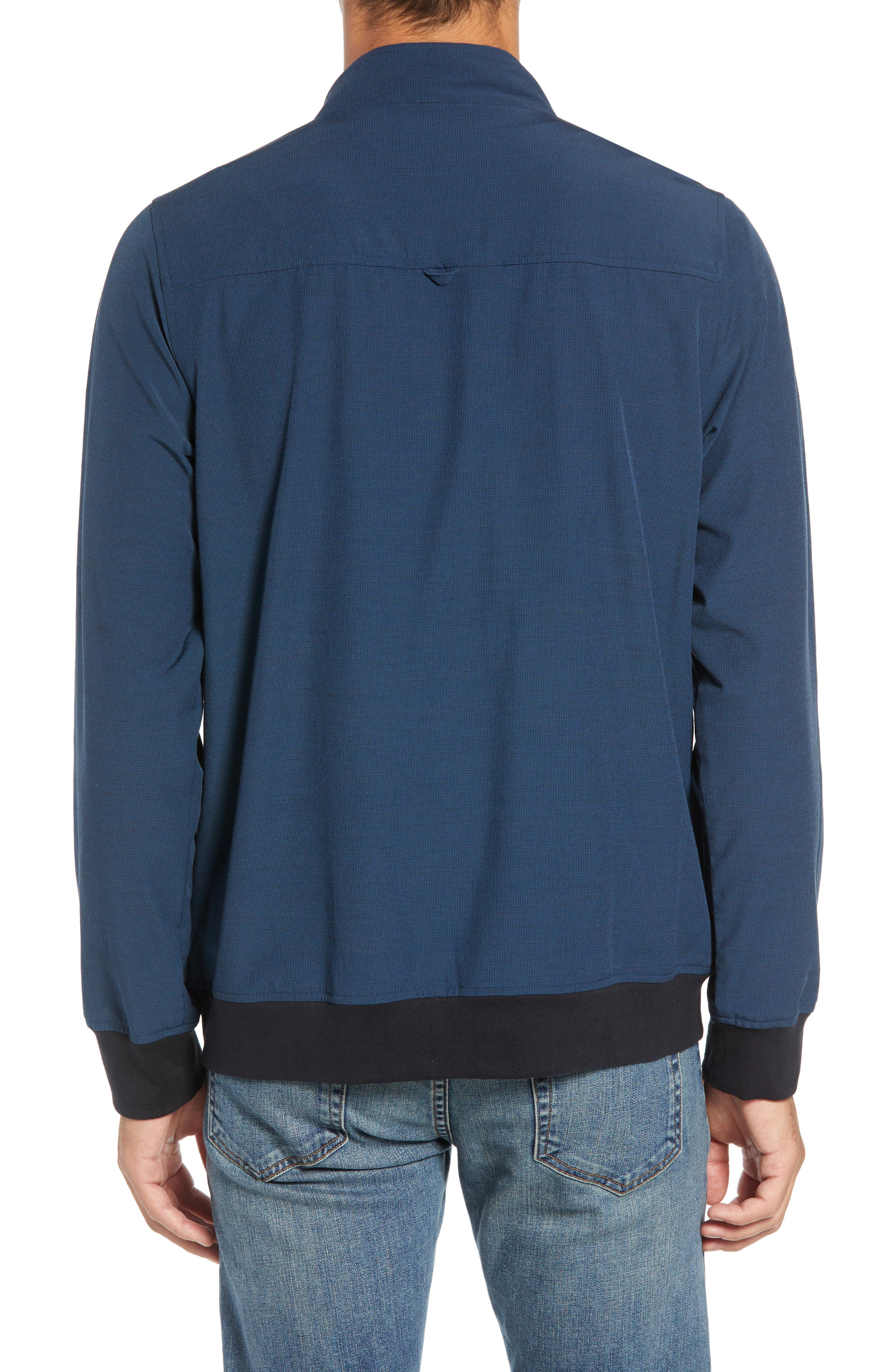Ridgley Regular Fit Jacket,                             Alternate thumbnail 2, color,                             BLUE WING TEAL/ BLACK