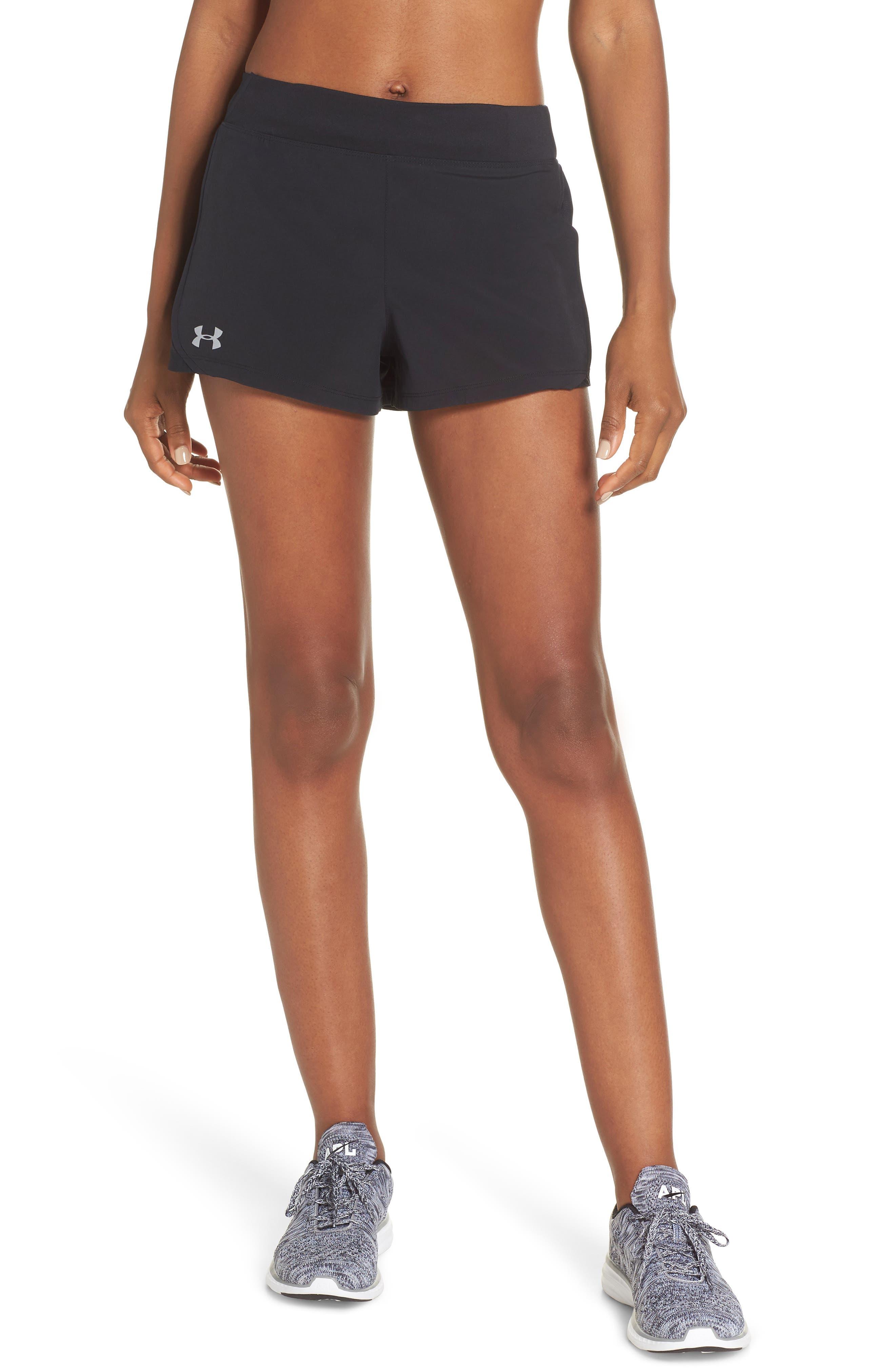 Speedpocket Shorts,                         Main,                         color, BLACK/ BLACK/ REFLECTIVE