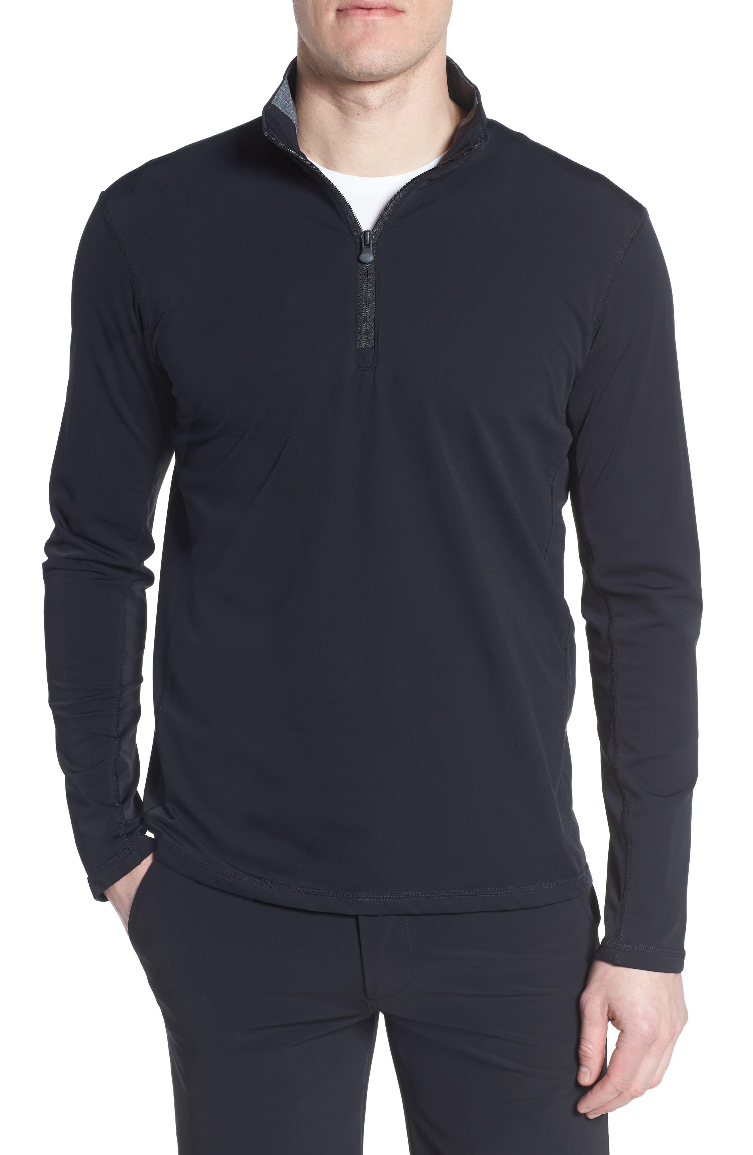 Tate Quarter Zip Pullover,                         Main,                         color, SHEPHERD