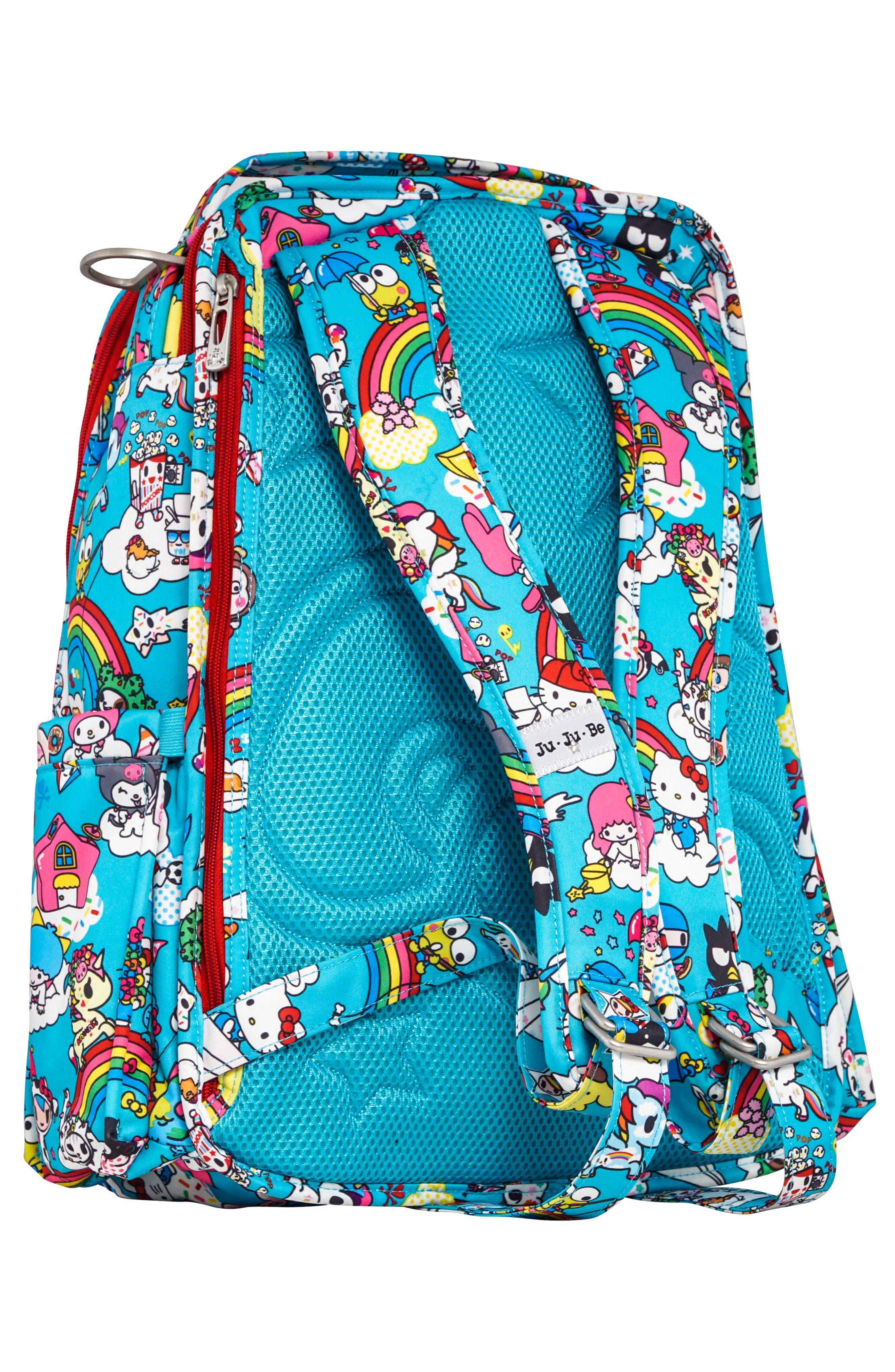 x tokidoki for Hello Sanrio Rainbow Dreams Be Right Back Diaper Backpack,                             Alternate thumbnail 2, color,                             433