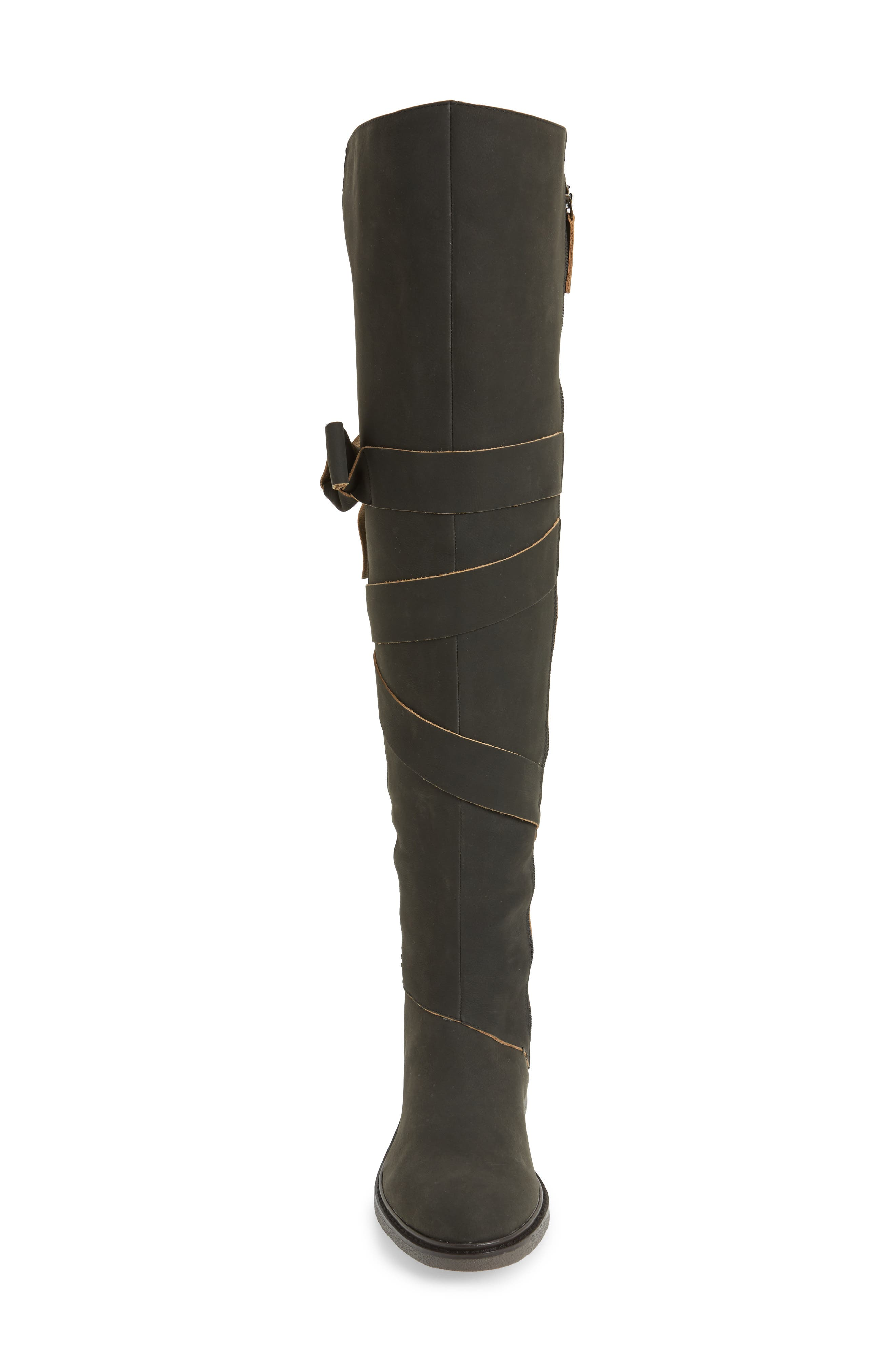 Colby Over the Knee Boot,                             Alternate thumbnail 4, color,                             001