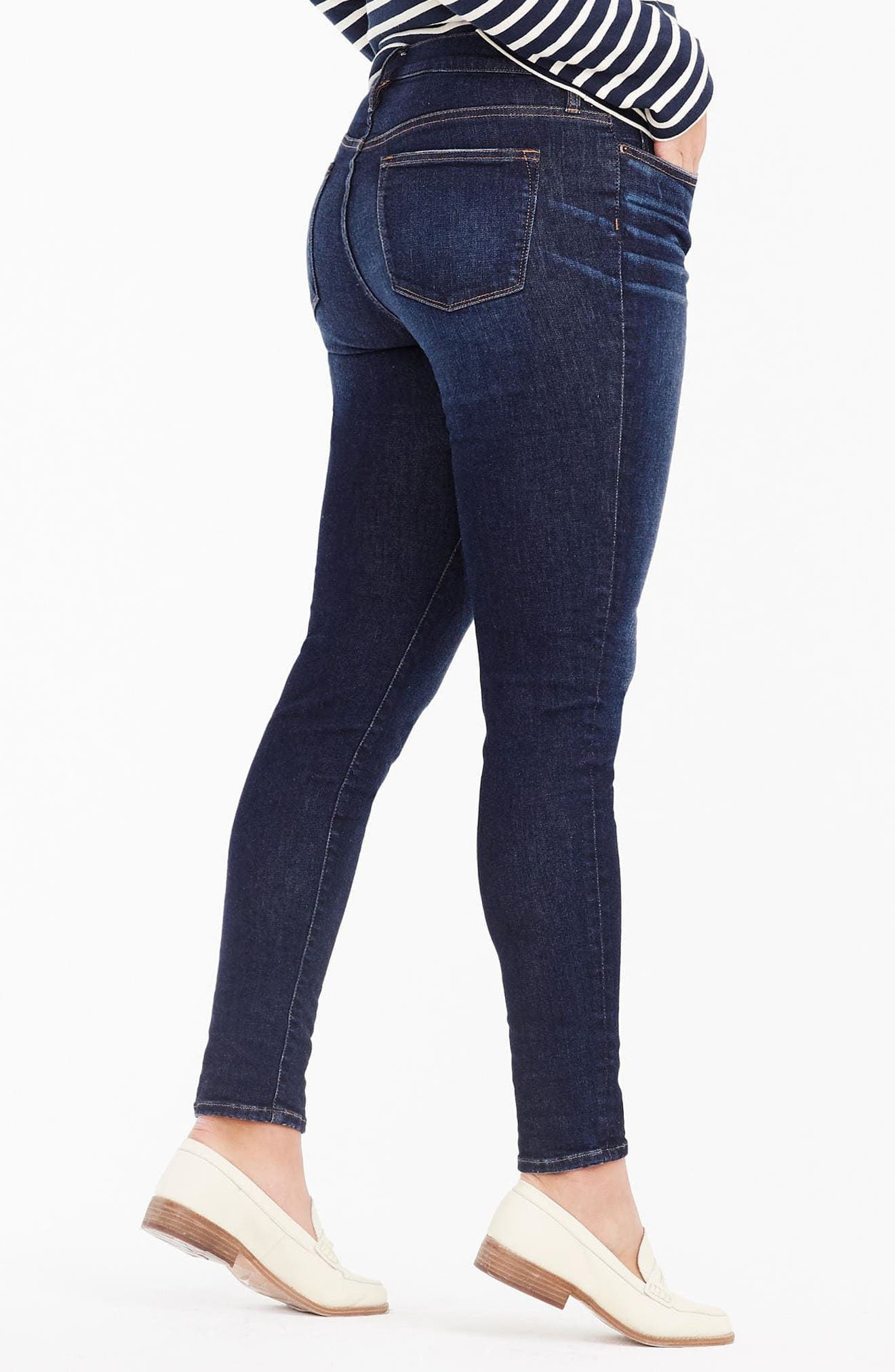 High Rise Toothpick Jeans,                             Alternate thumbnail 2, color,                             409