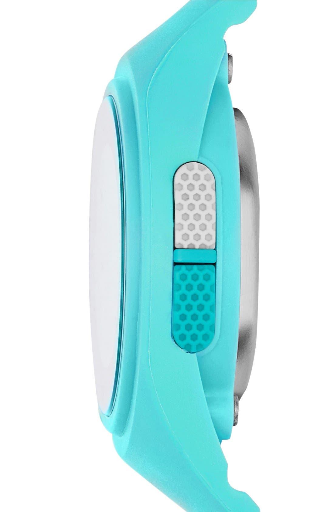 'Adizero' Digital Watch, 43mm x 38mm,                             Alternate thumbnail 10, color,