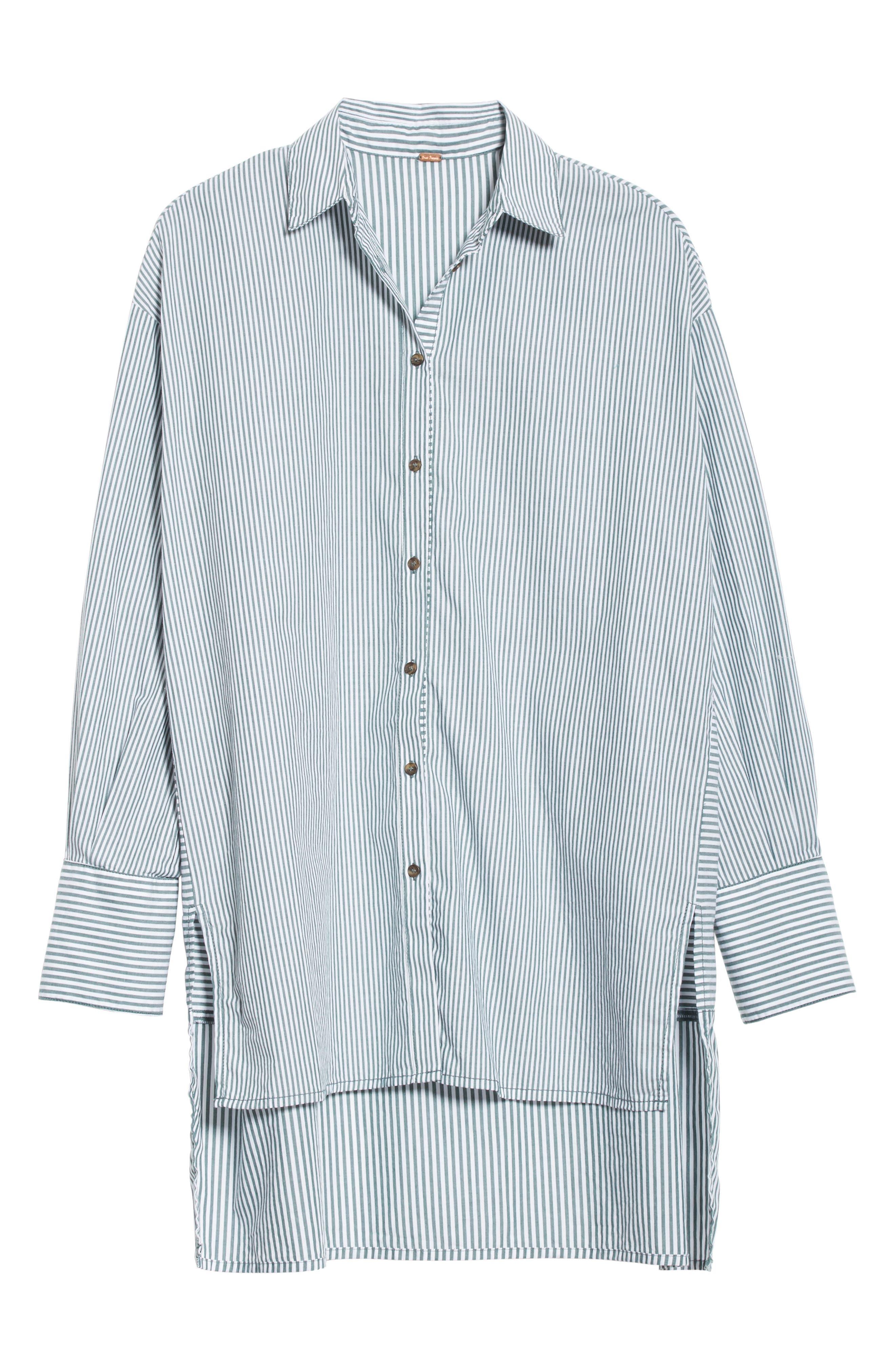Lakehouse Oversize Shirt,                             Alternate thumbnail 6, color,                             300