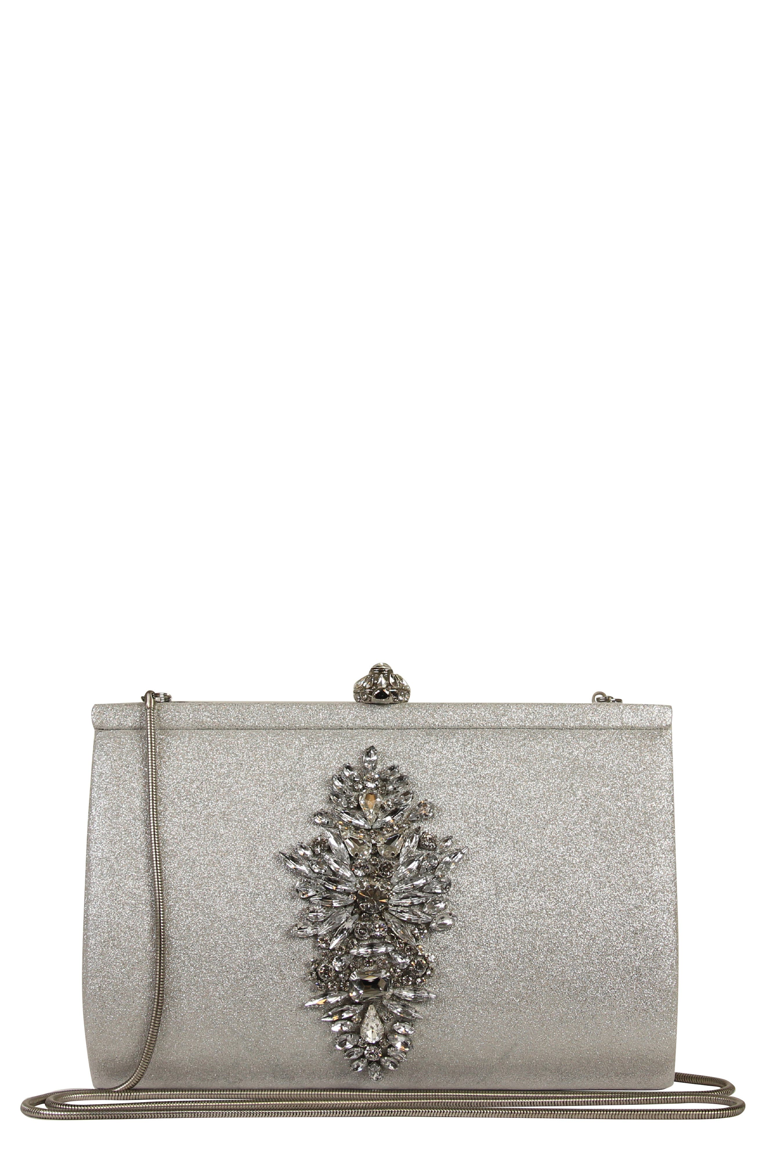 Galaxy Embellished Clutch,                             Main thumbnail 1, color,                             040