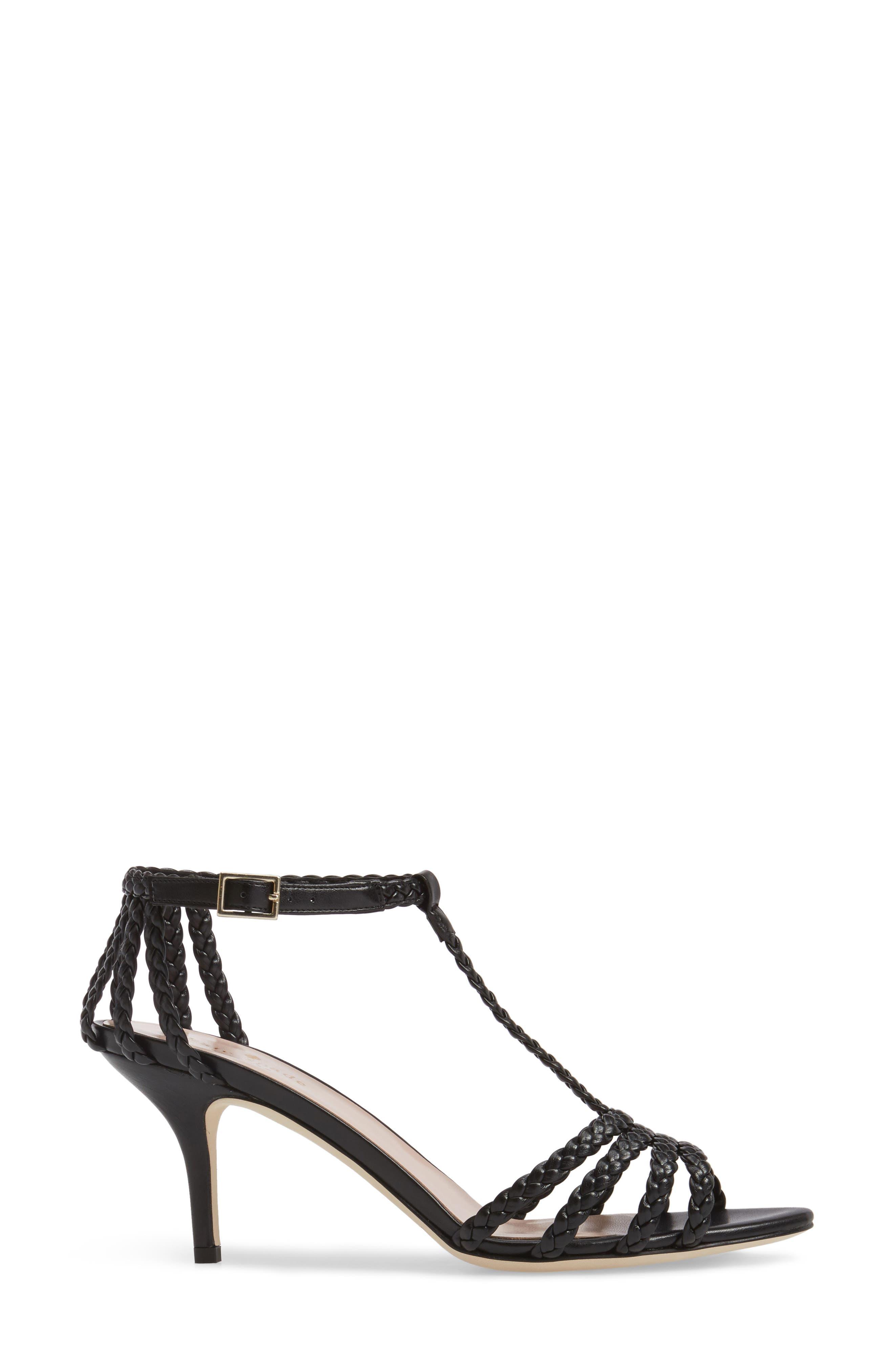 sullivan strappy sandal,                             Alternate thumbnail 3, color,                             001
