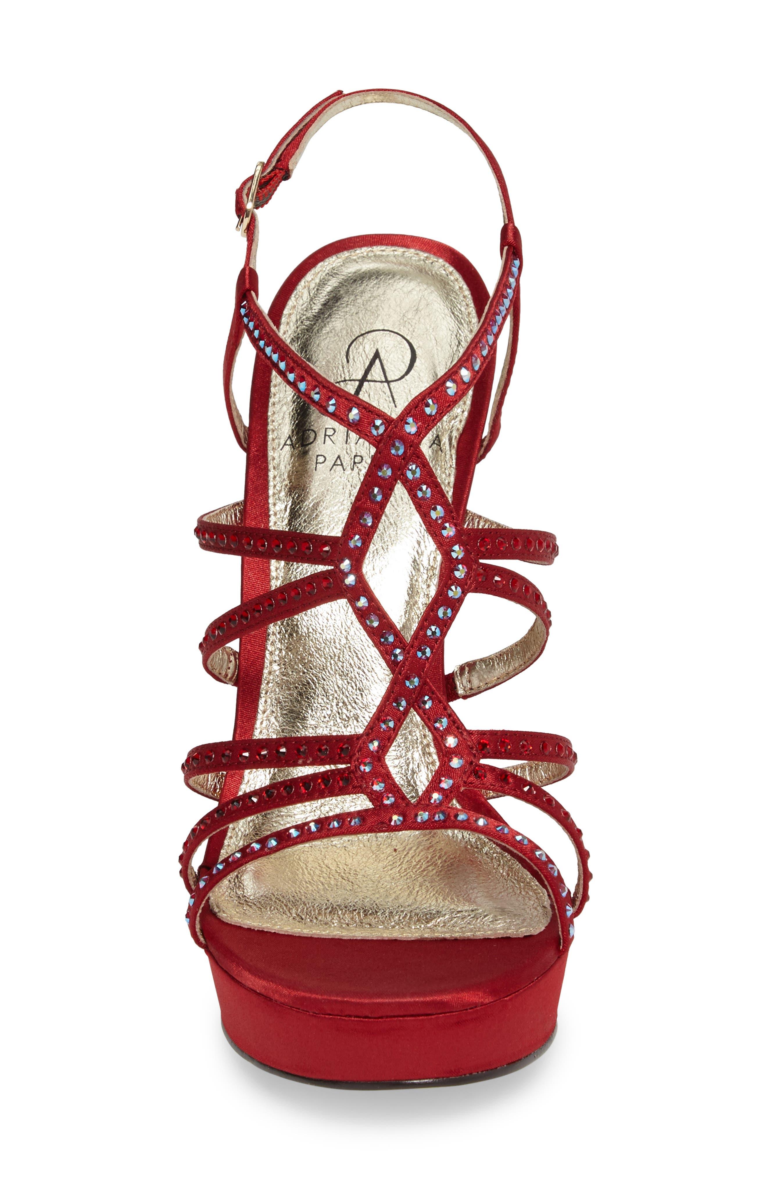 Miranda Embellished Platform Sandal,                             Alternate thumbnail 19, color,