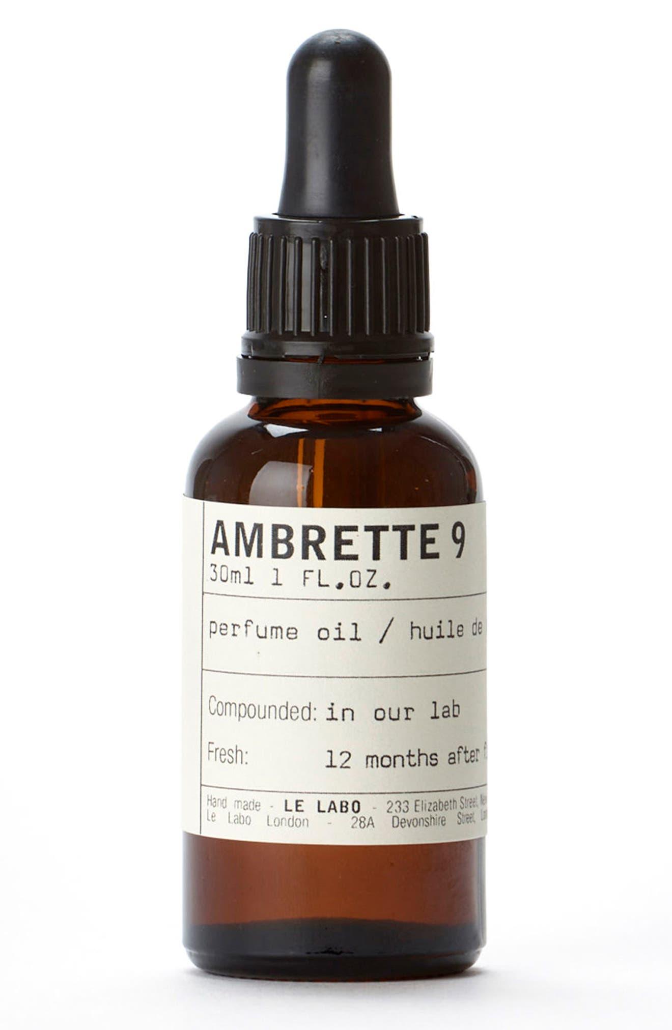 'Ambrette 9' Perfume Oil,                             Main thumbnail 1, color,                             000