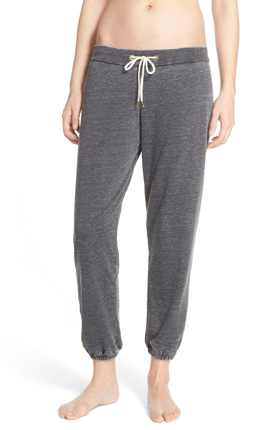 French Terry Lounge Pants,                         Main,                         color, 001