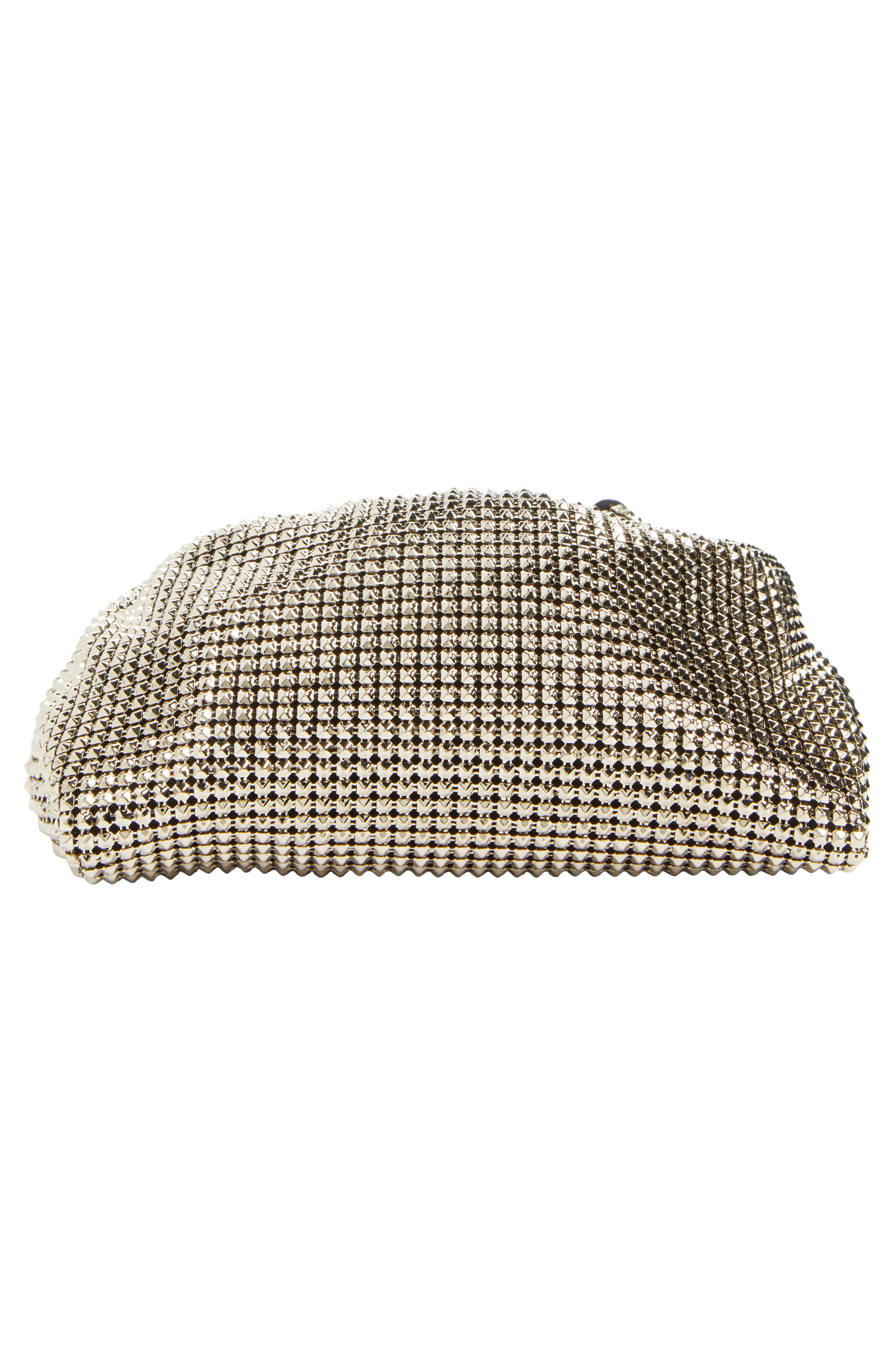 Ring Mesh Clutch,                             Alternate thumbnail 6, color,                             112