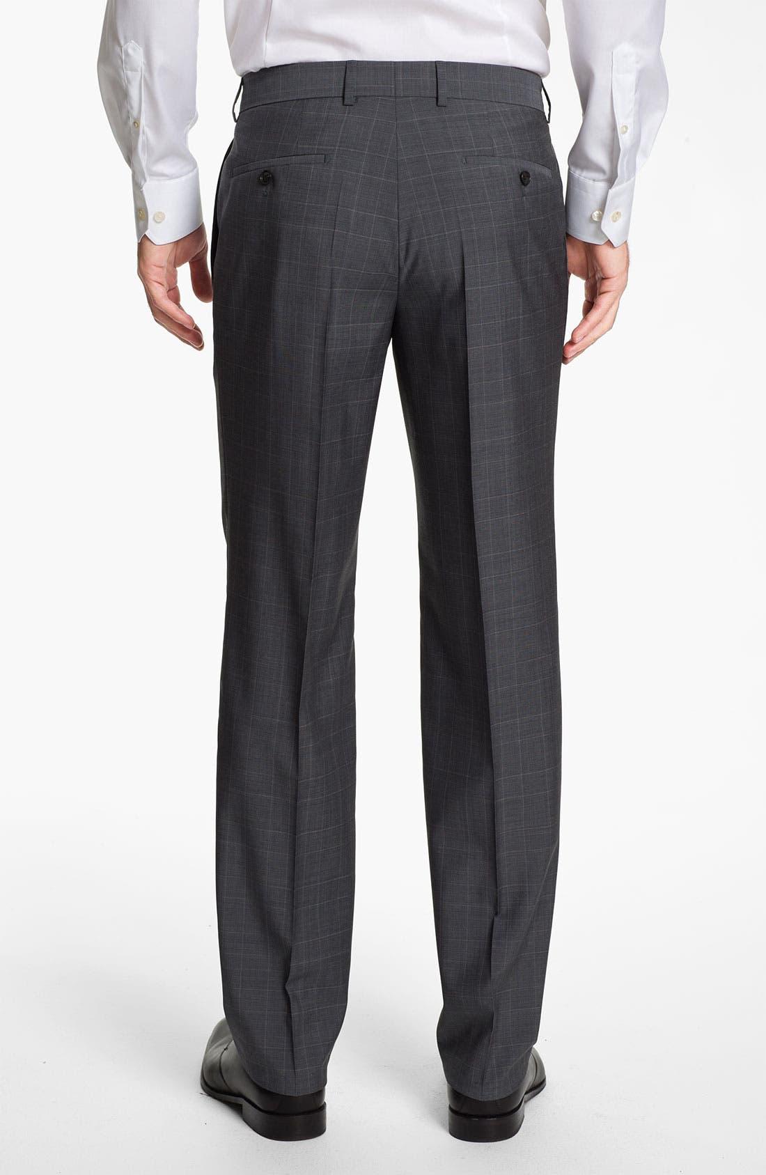 BOSS Black 'Pasini/Movie' Plaid Suit,                             Alternate thumbnail 5, color,                             030
