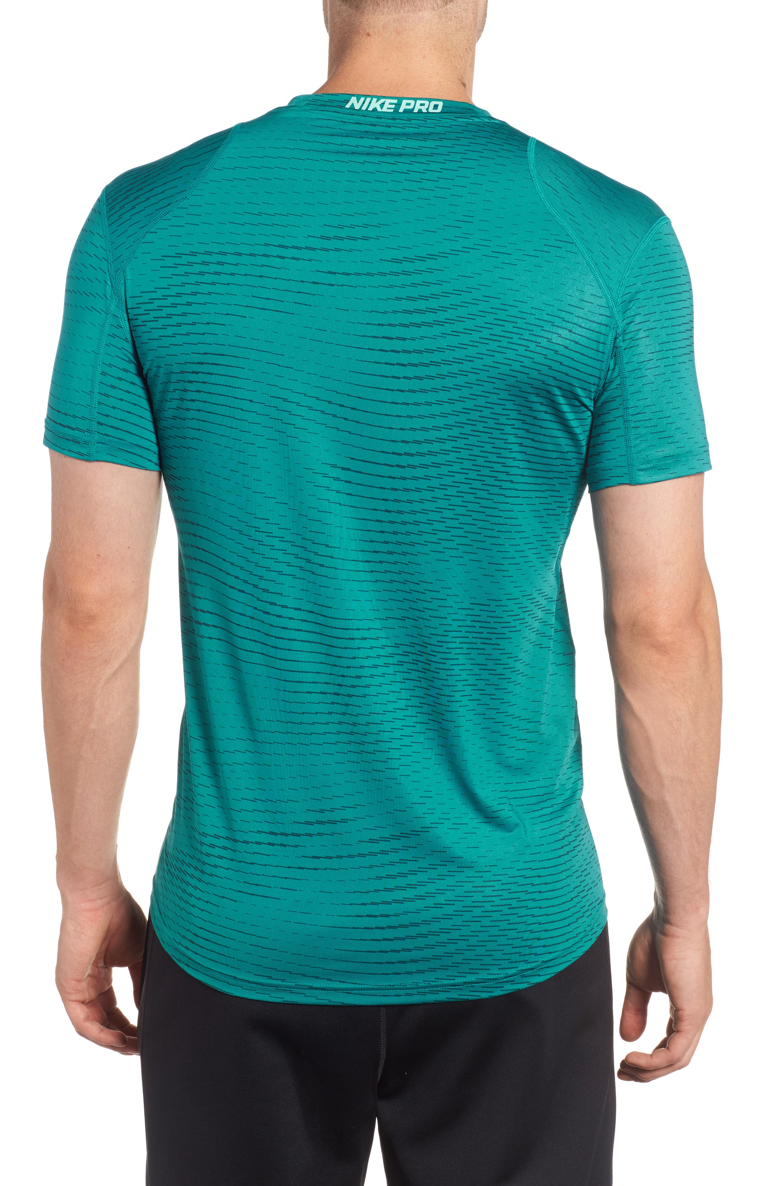Fitted Athletic T-Shirt,                             Alternate thumbnail 6, color,