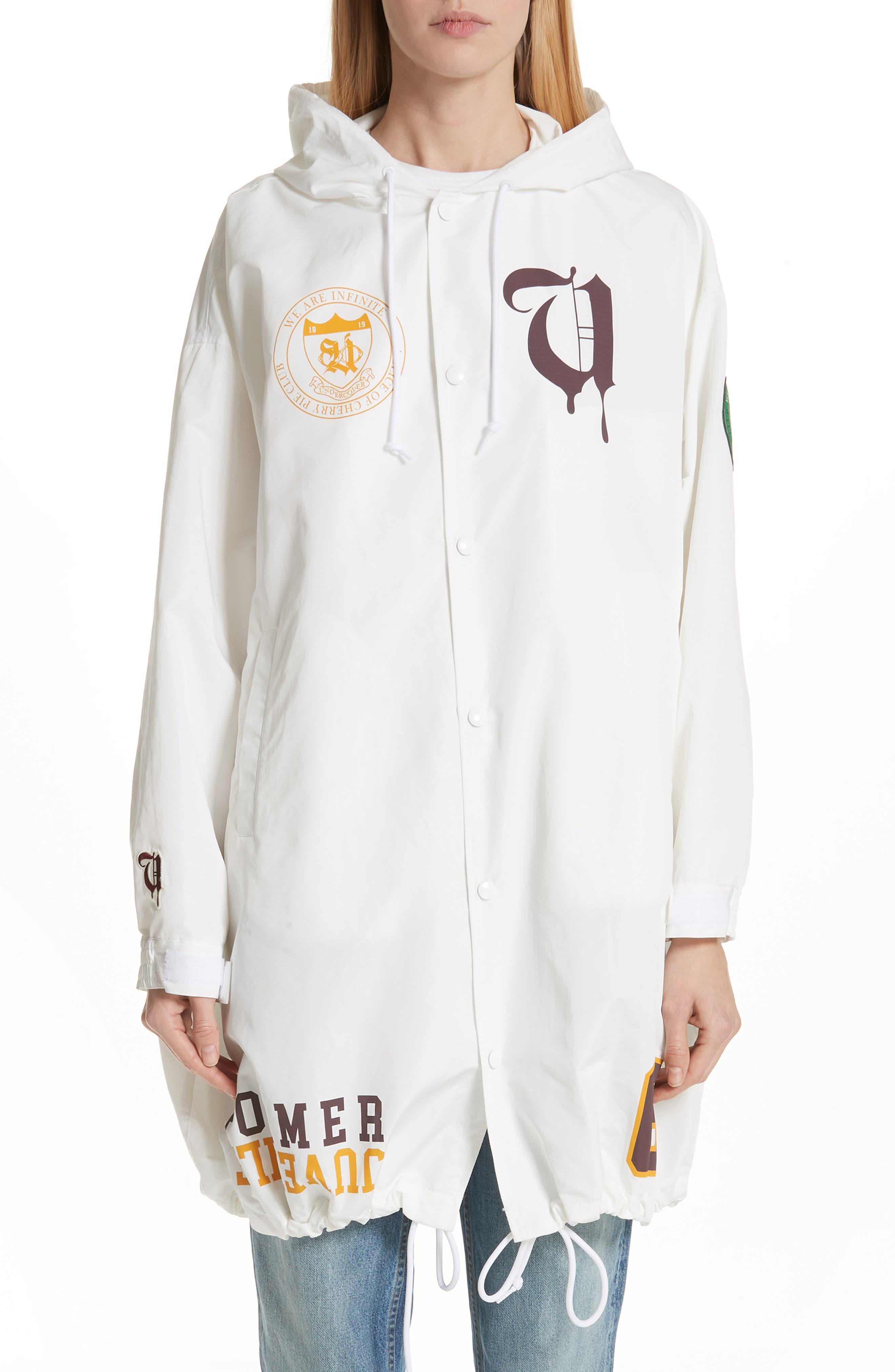 Former Juvenile Angel Jacket,                         Main,                         color, A WHITE