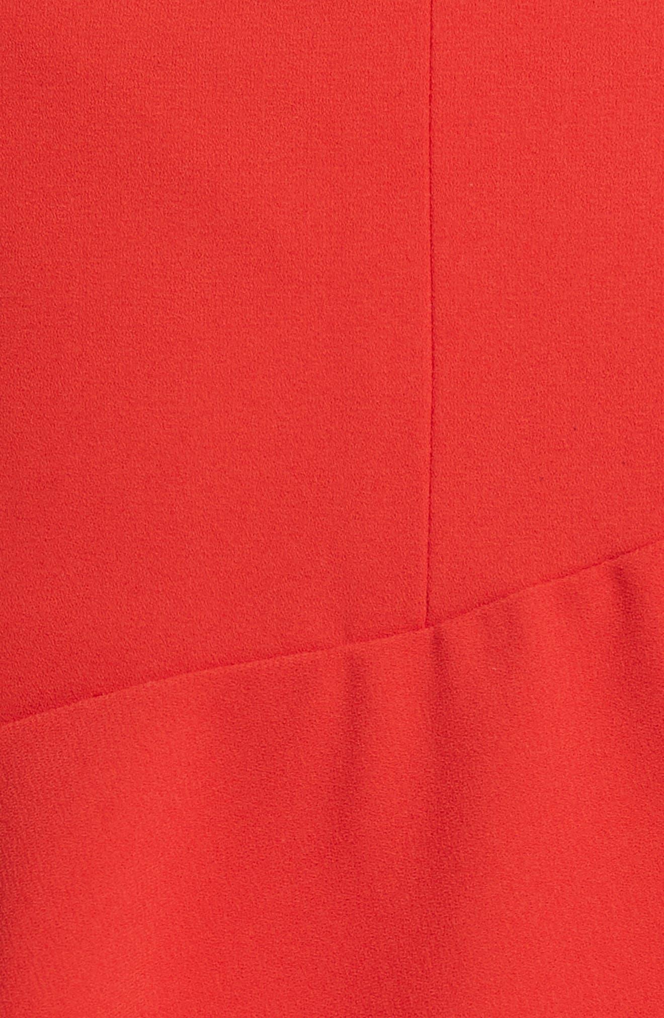 Nisa Ruffle Miniskirt,                             Alternate thumbnail 5, color,                             612