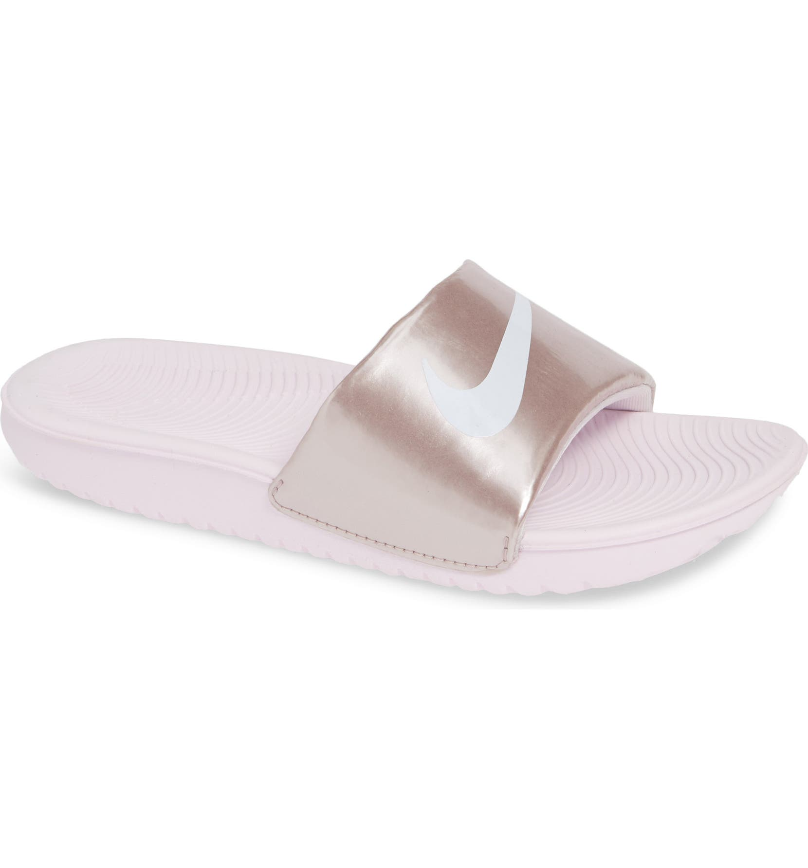 bd00fb31e9025 Nike  Kawa  Slide Sandal (Toddler