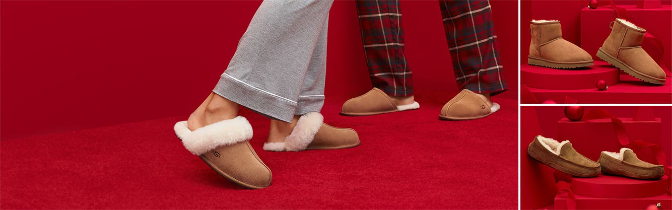 UGG slippers, boots and more for the whole family.