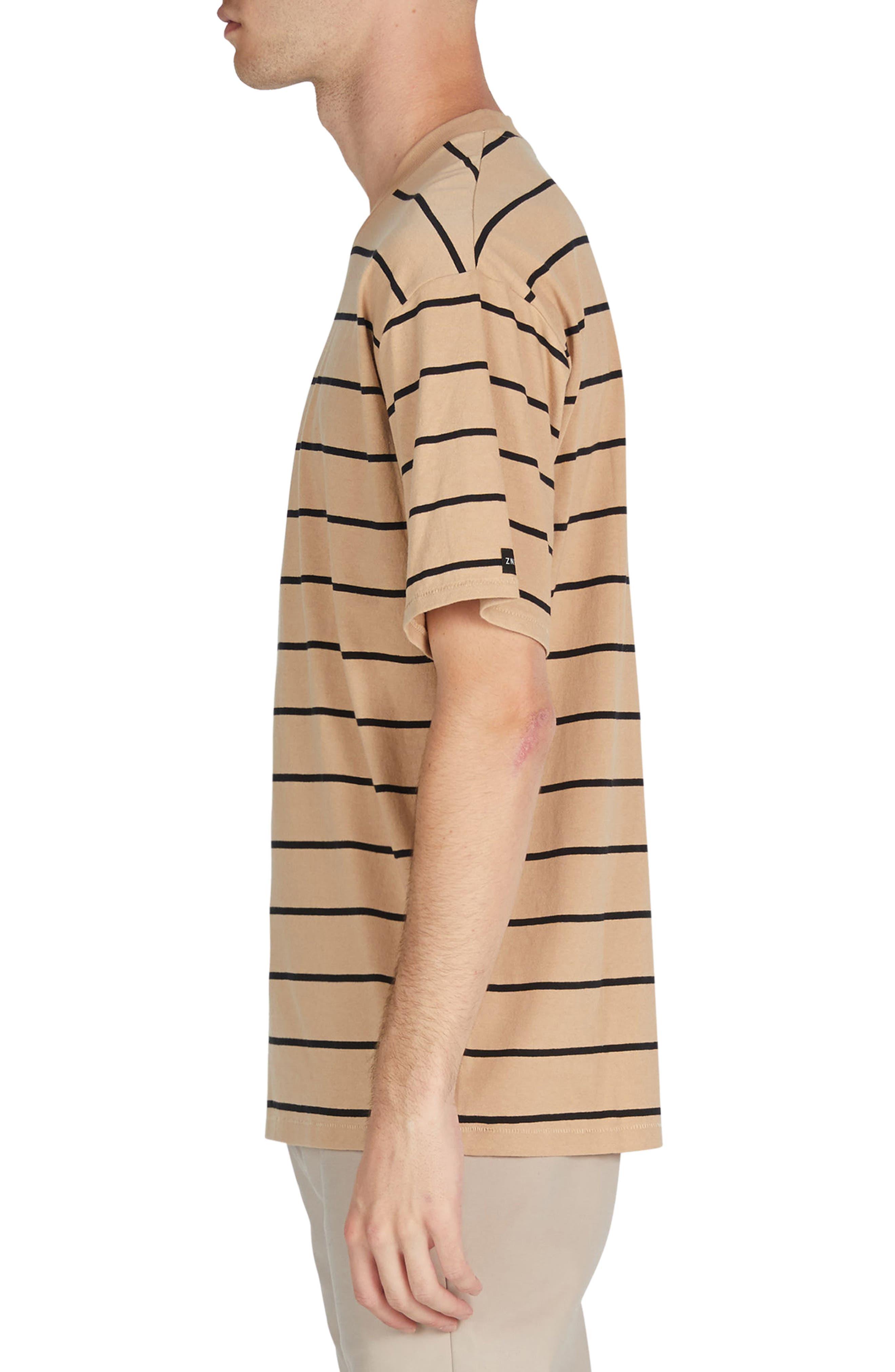 Stripe Box T-Shirt,                             Alternate thumbnail 3, color,                             273