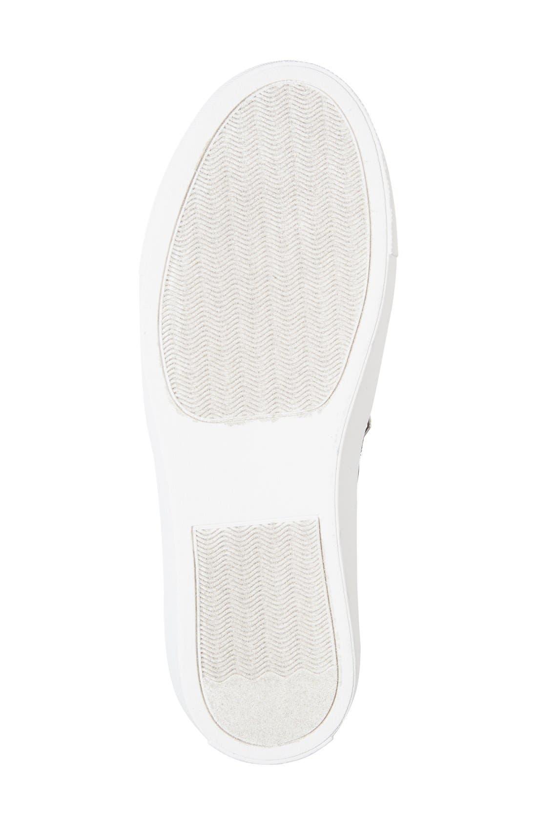 'Ellias' Slip-On Sneaker,                             Alternate thumbnail 4, color,                             001
