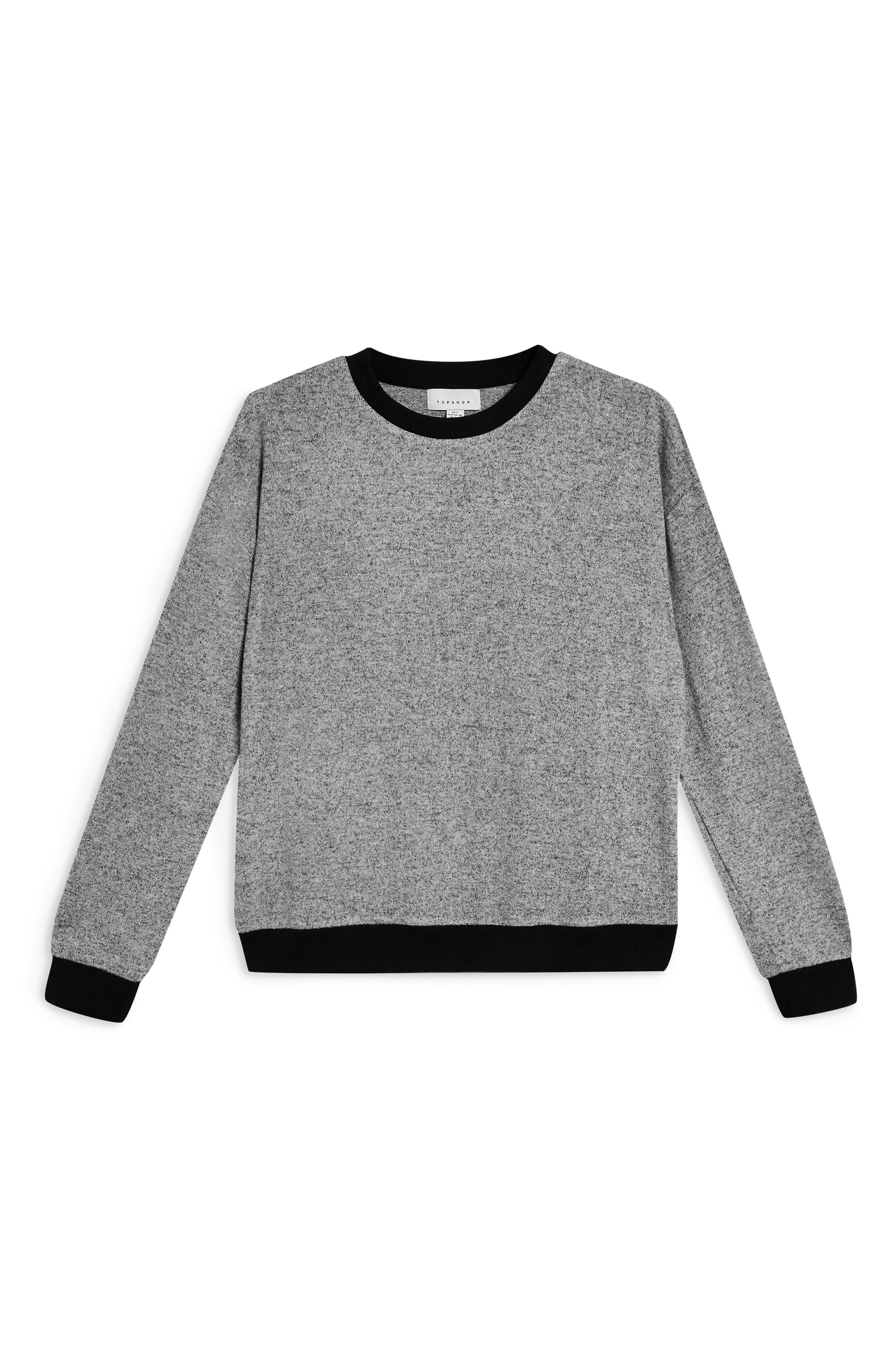 Supersoft Sweatshirt,                             Alternate thumbnail 2, color,                             GREY MARL