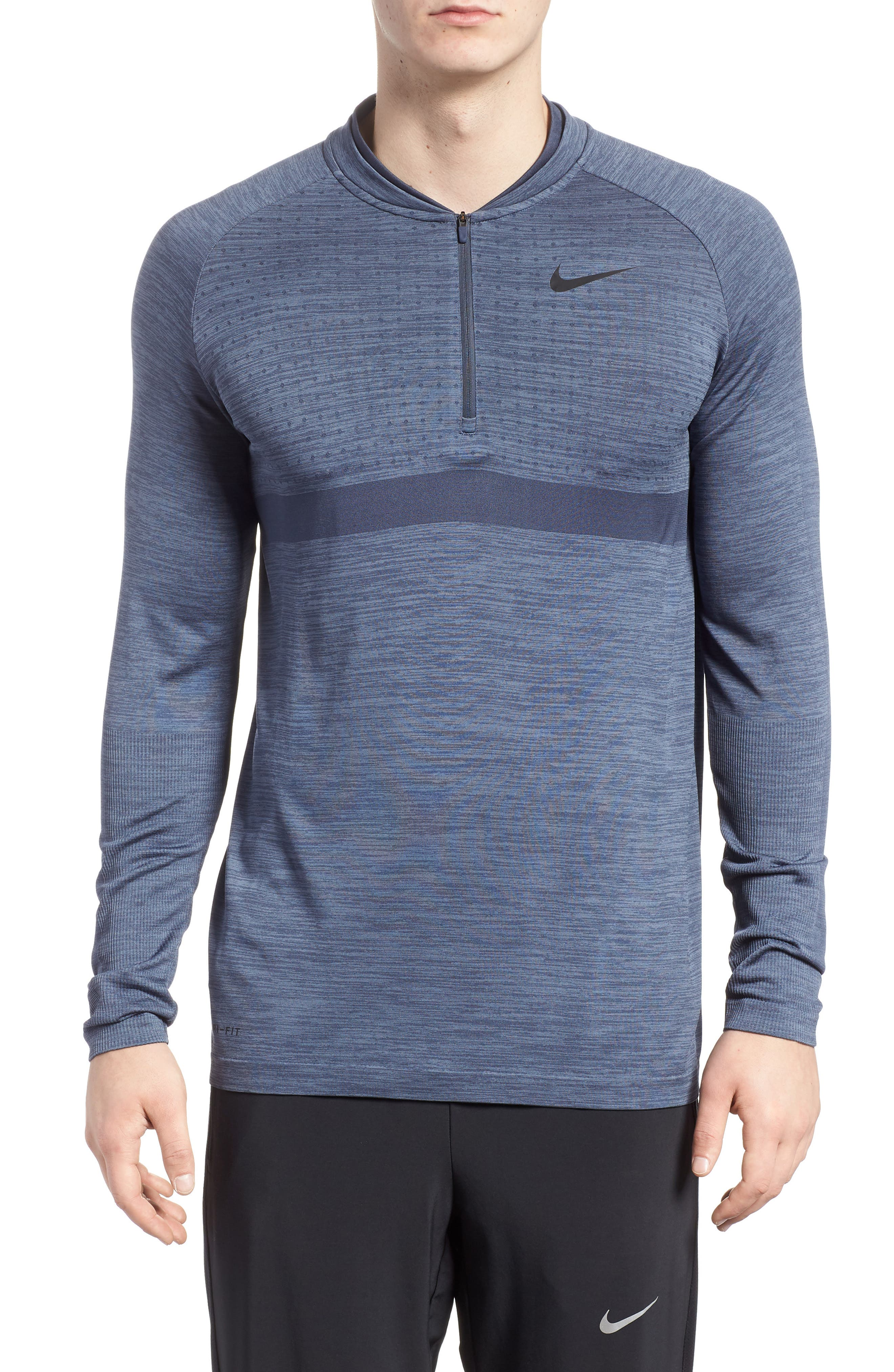 Dry Seamless Half Zip Golf Pullover,                         Main,                         color, 021