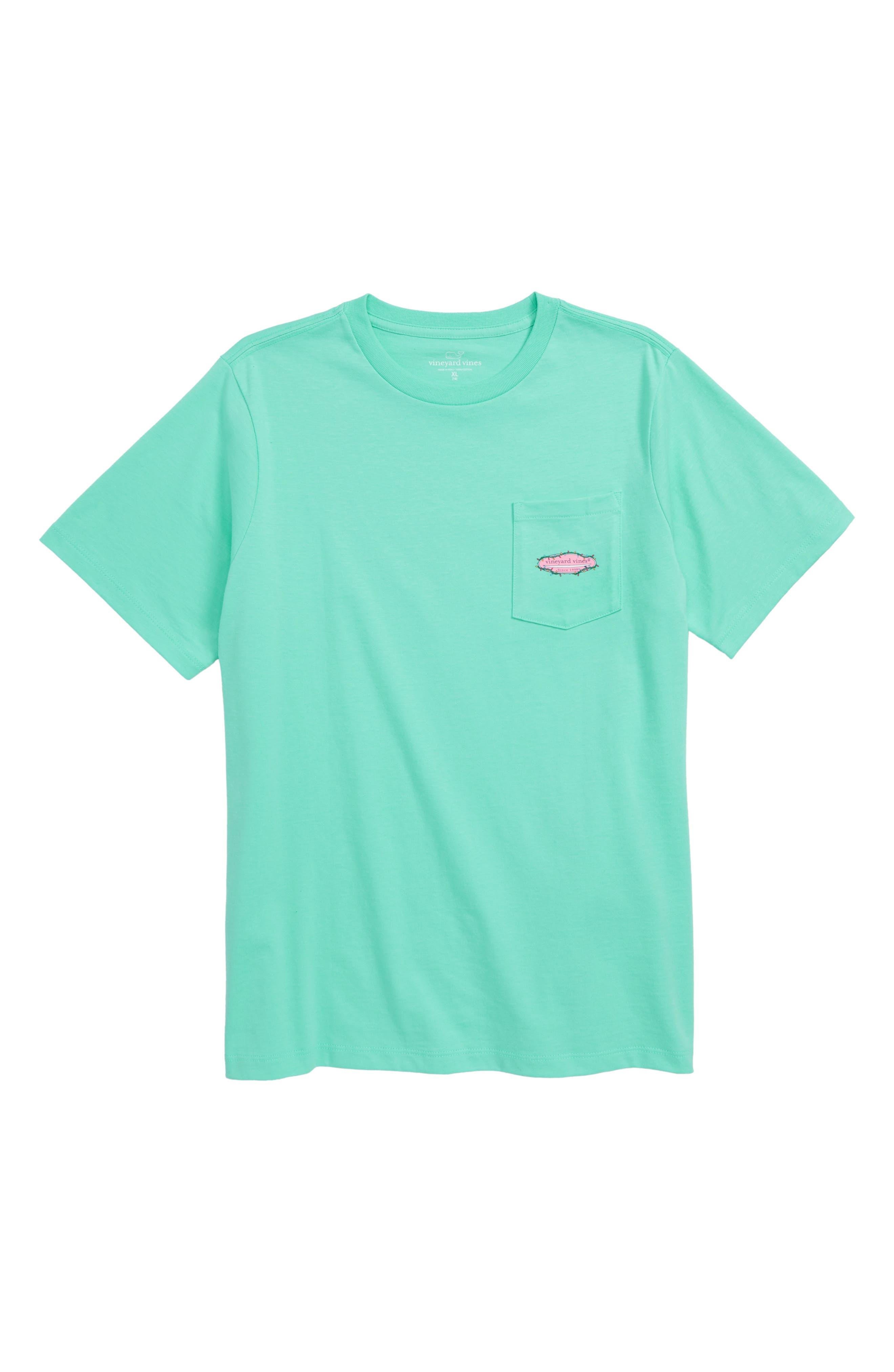 Surf Lights T-Shirt,                             Main thumbnail 1, color,                             CAPRI BLUE