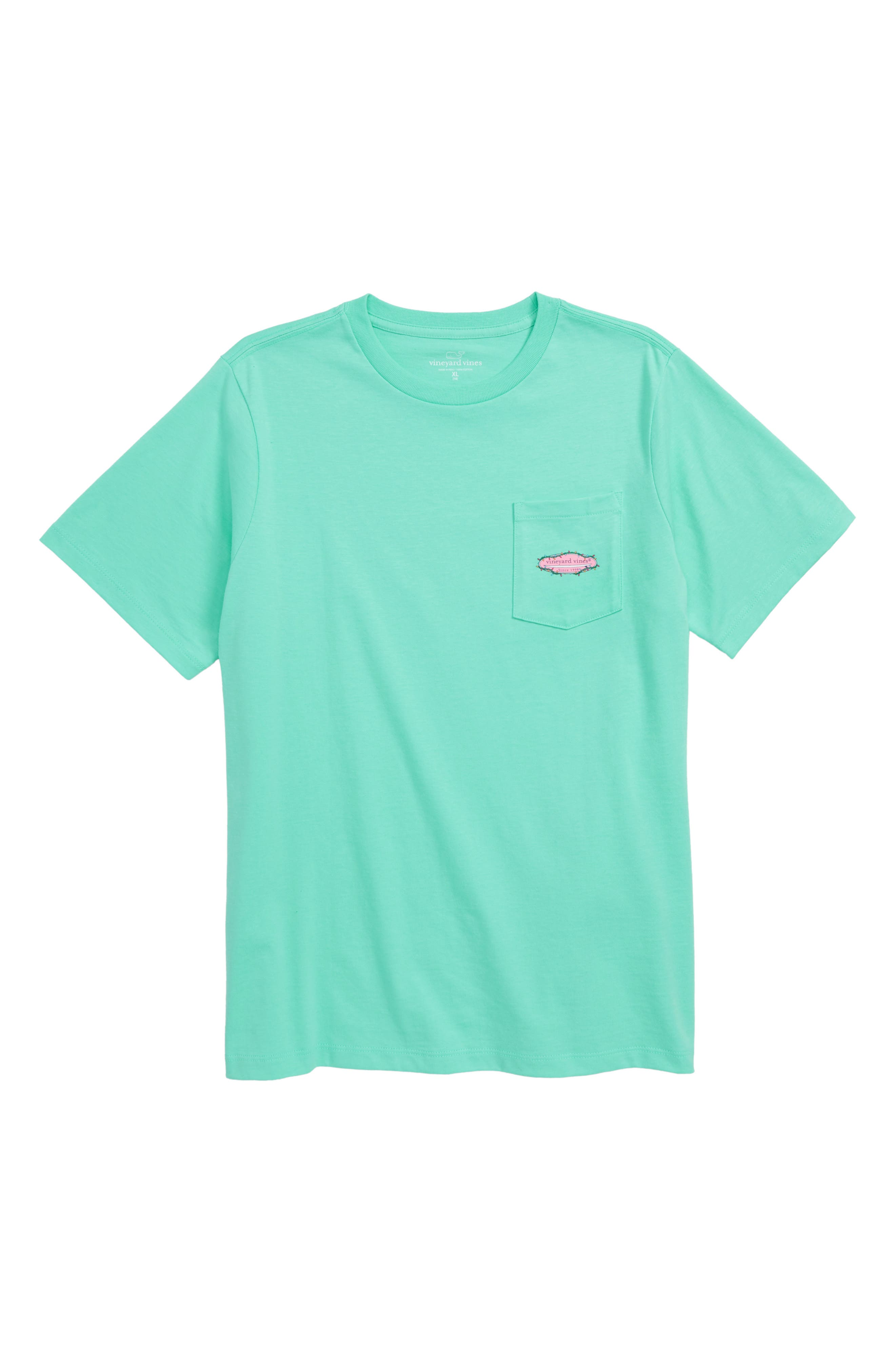 Surf Lights T-Shirt,                         Main,                         color, CAPRI BLUE