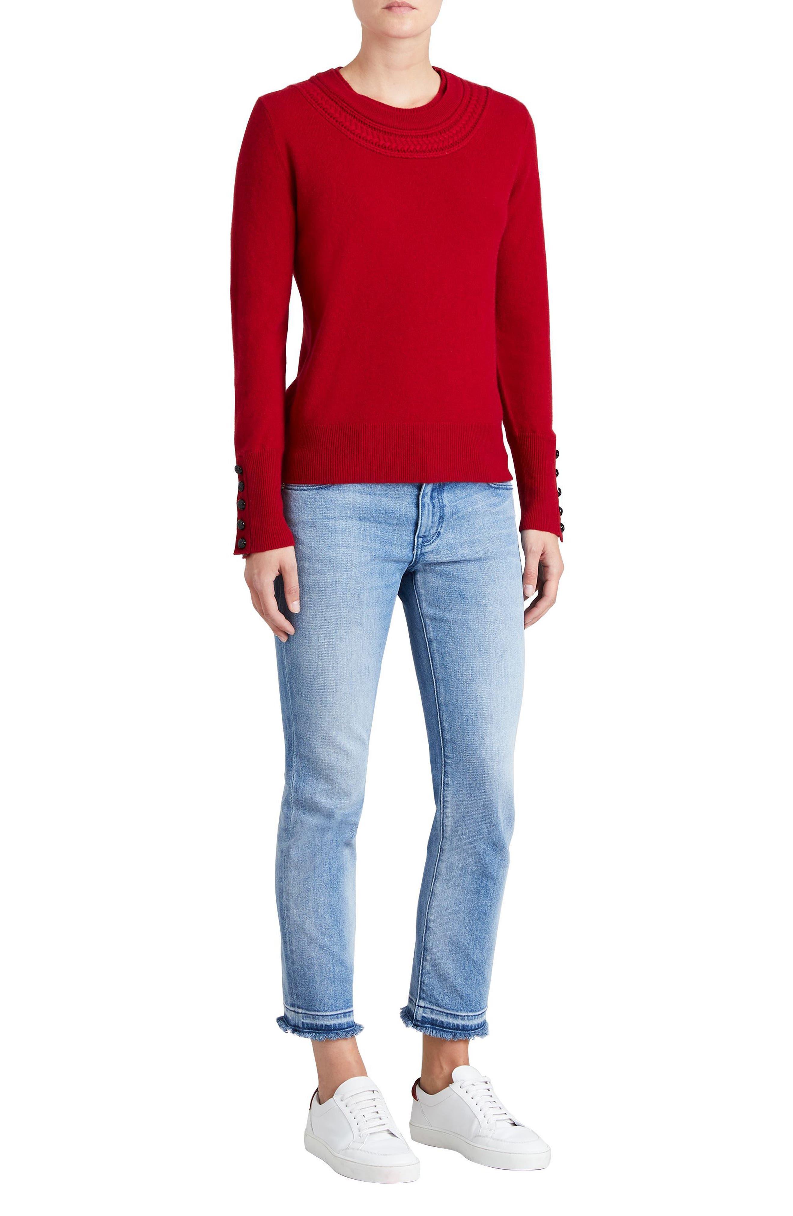 Carapelle Cashmere Sweater,                             Alternate thumbnail 18, color,