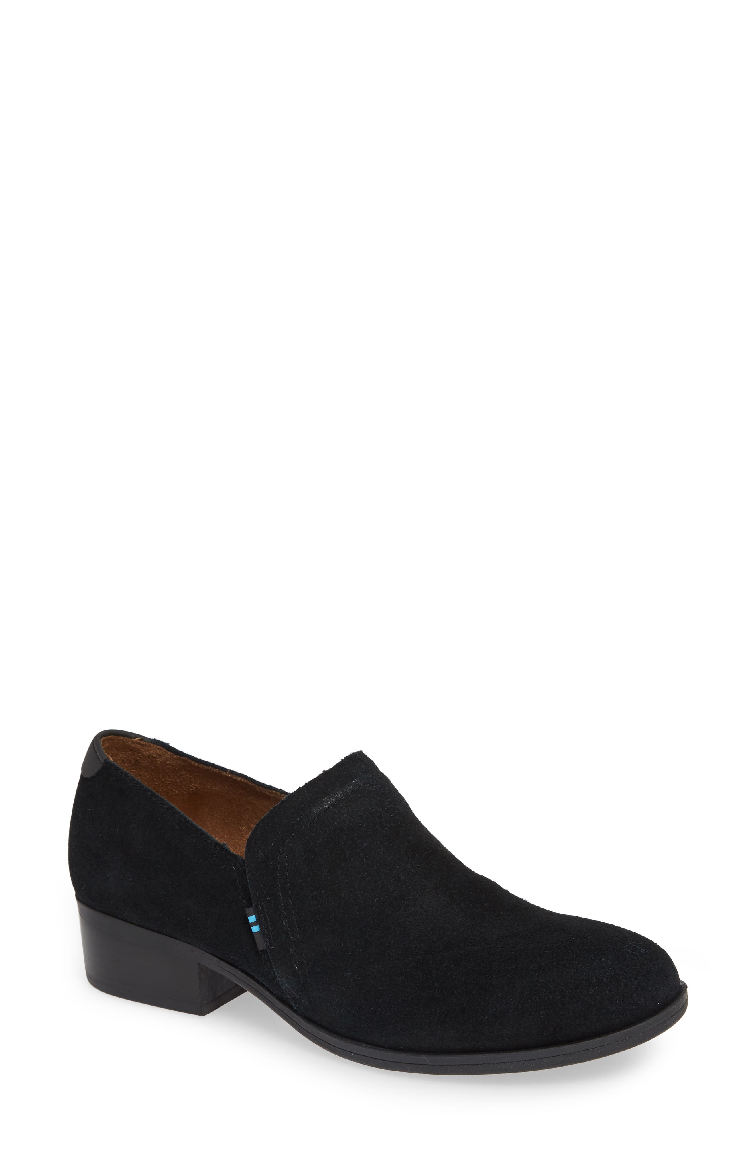 TOMS,                             Shaye Bootie,                             Main thumbnail 1, color,                             001