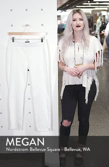 'Millie' Pull-On Stretch Ankle Skinny Jeans, sales video thumbnail