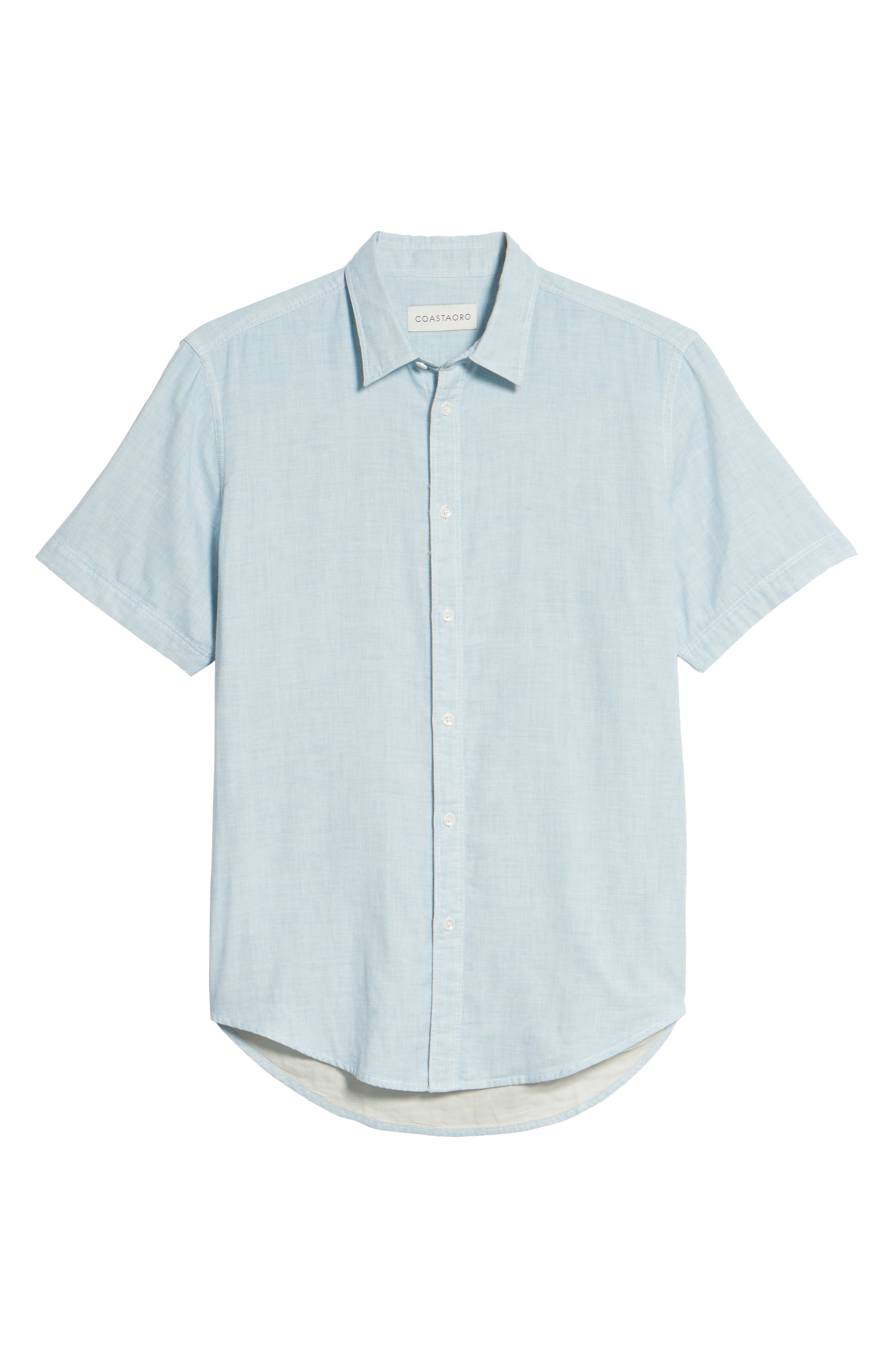 Encinitas Regular Fit Sport Shirt,                             Alternate thumbnail 6, color,                             451