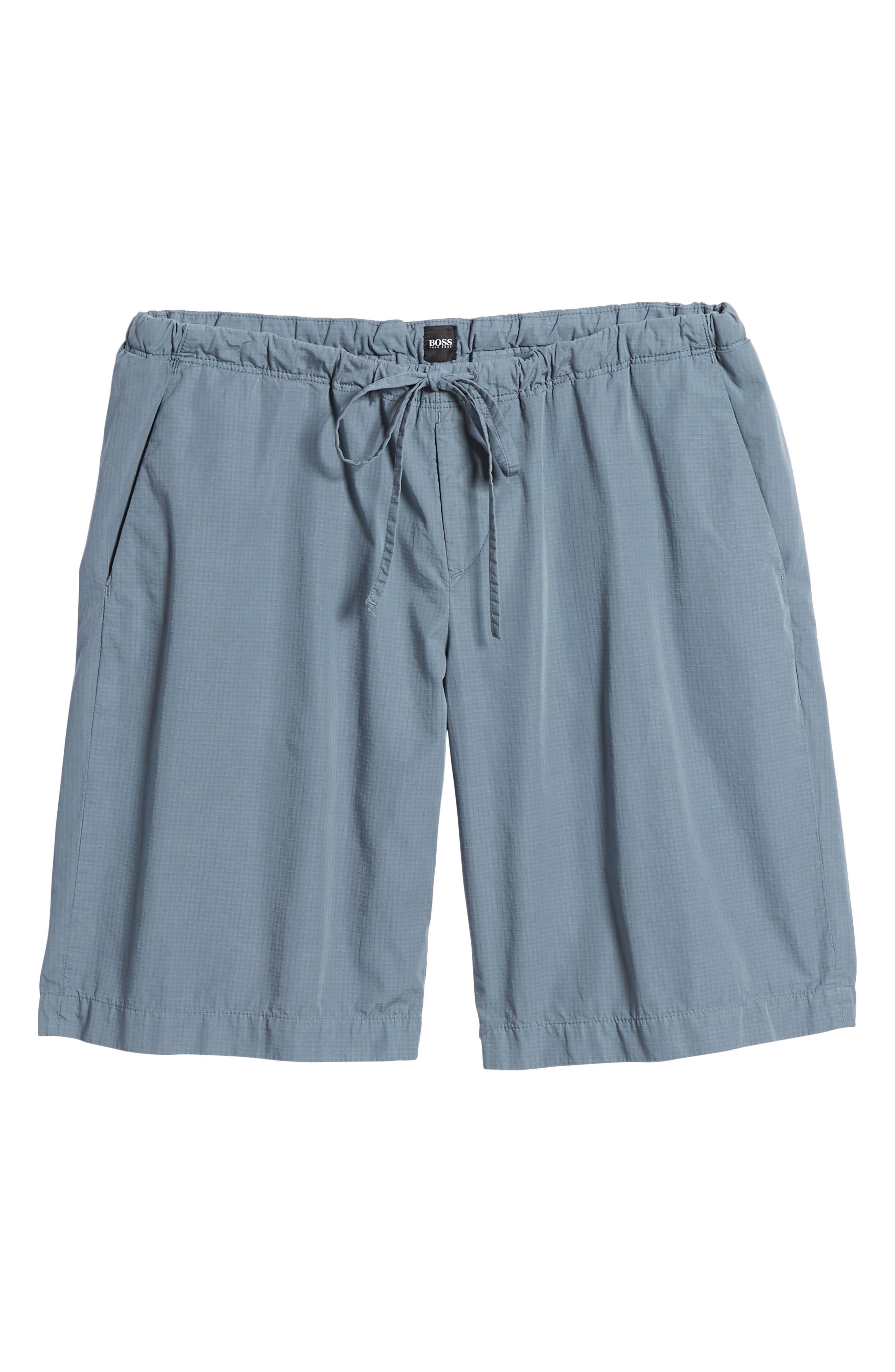 Passeo Cotton Shorts,                             Alternate thumbnail 6, color,                             GREY