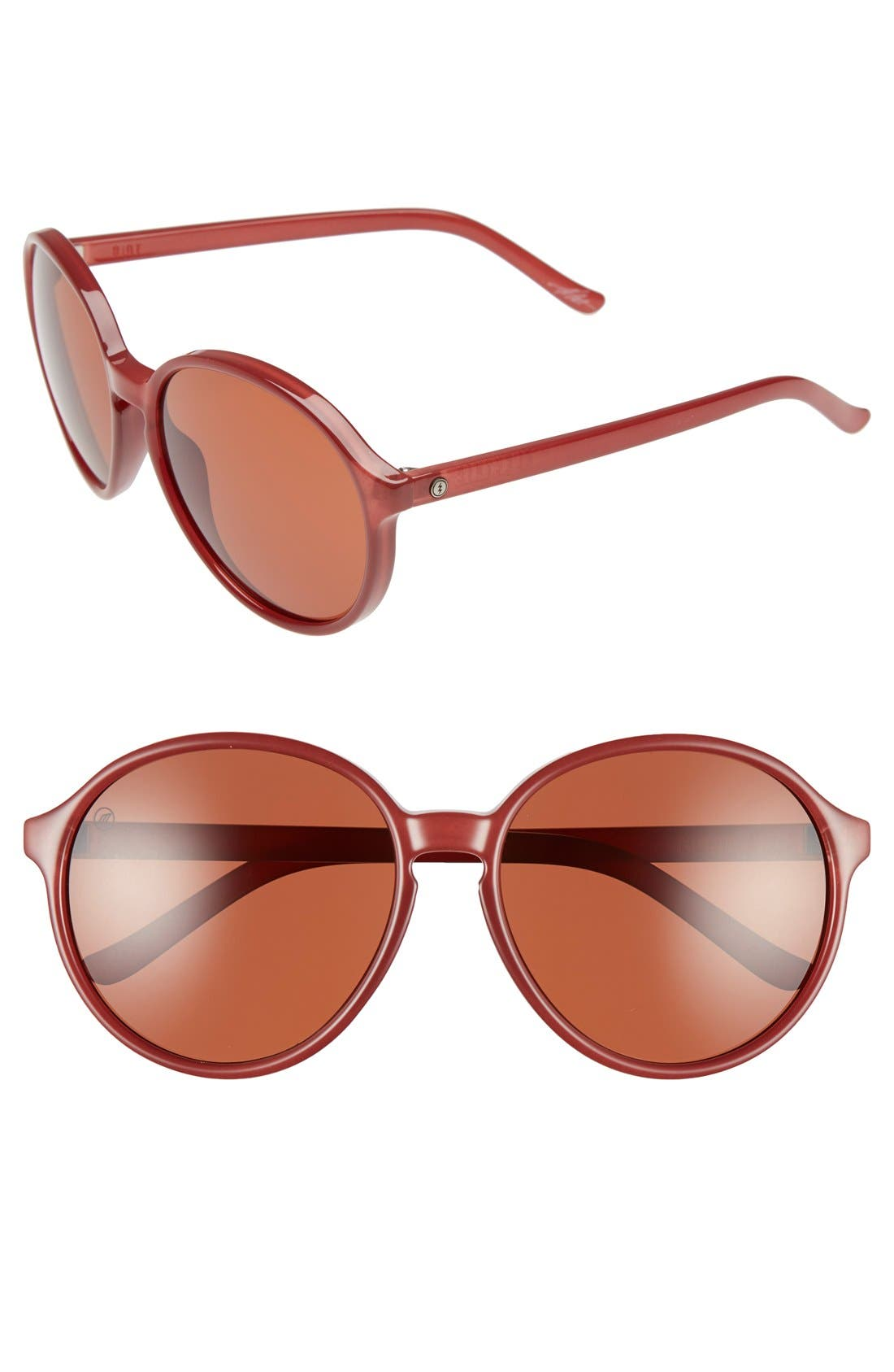 'Riot' 58mm Sunglasses,                         Main,                         color, 600