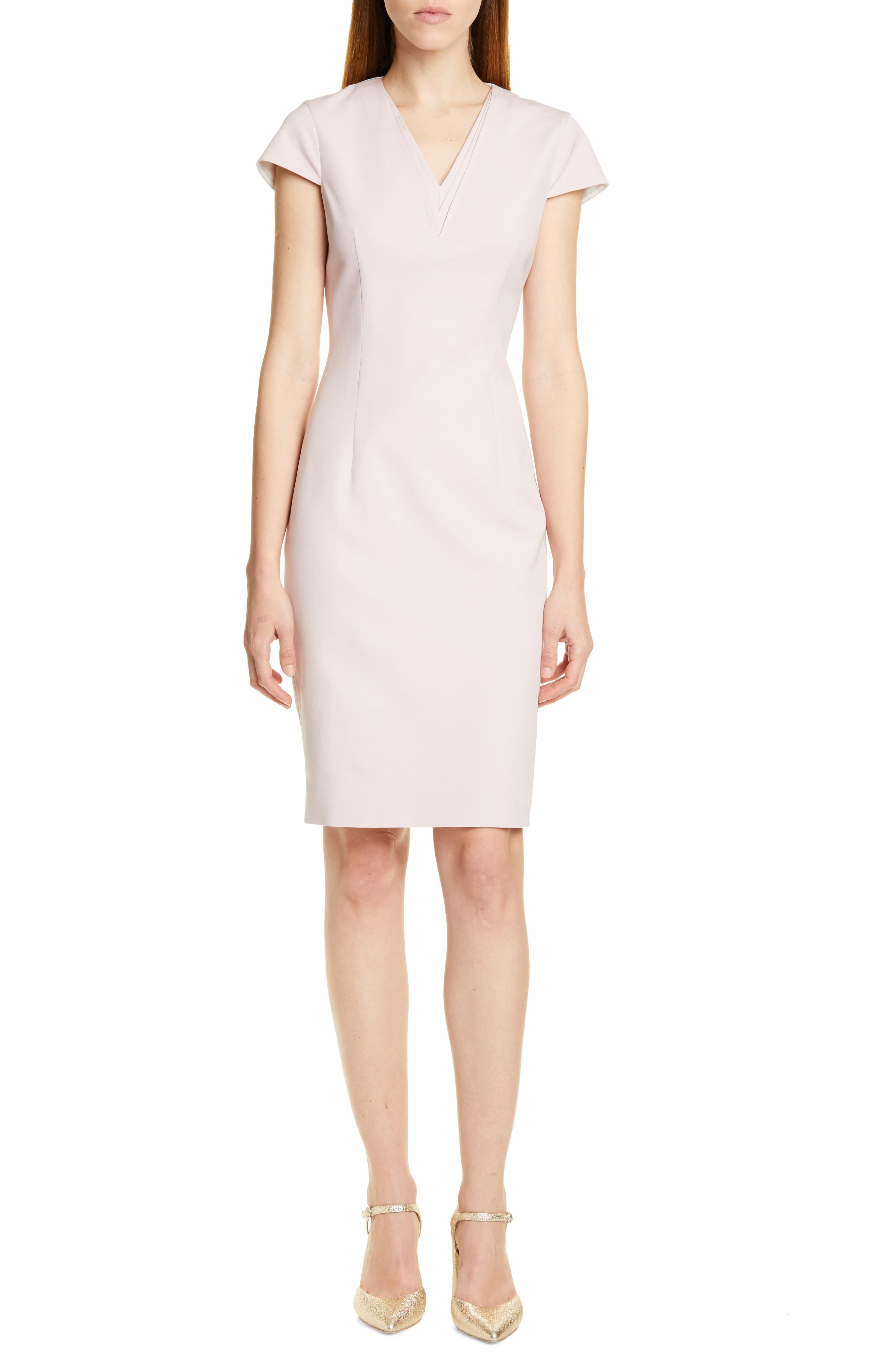 Ted Baker London Kloee Pencil Dress, Pink