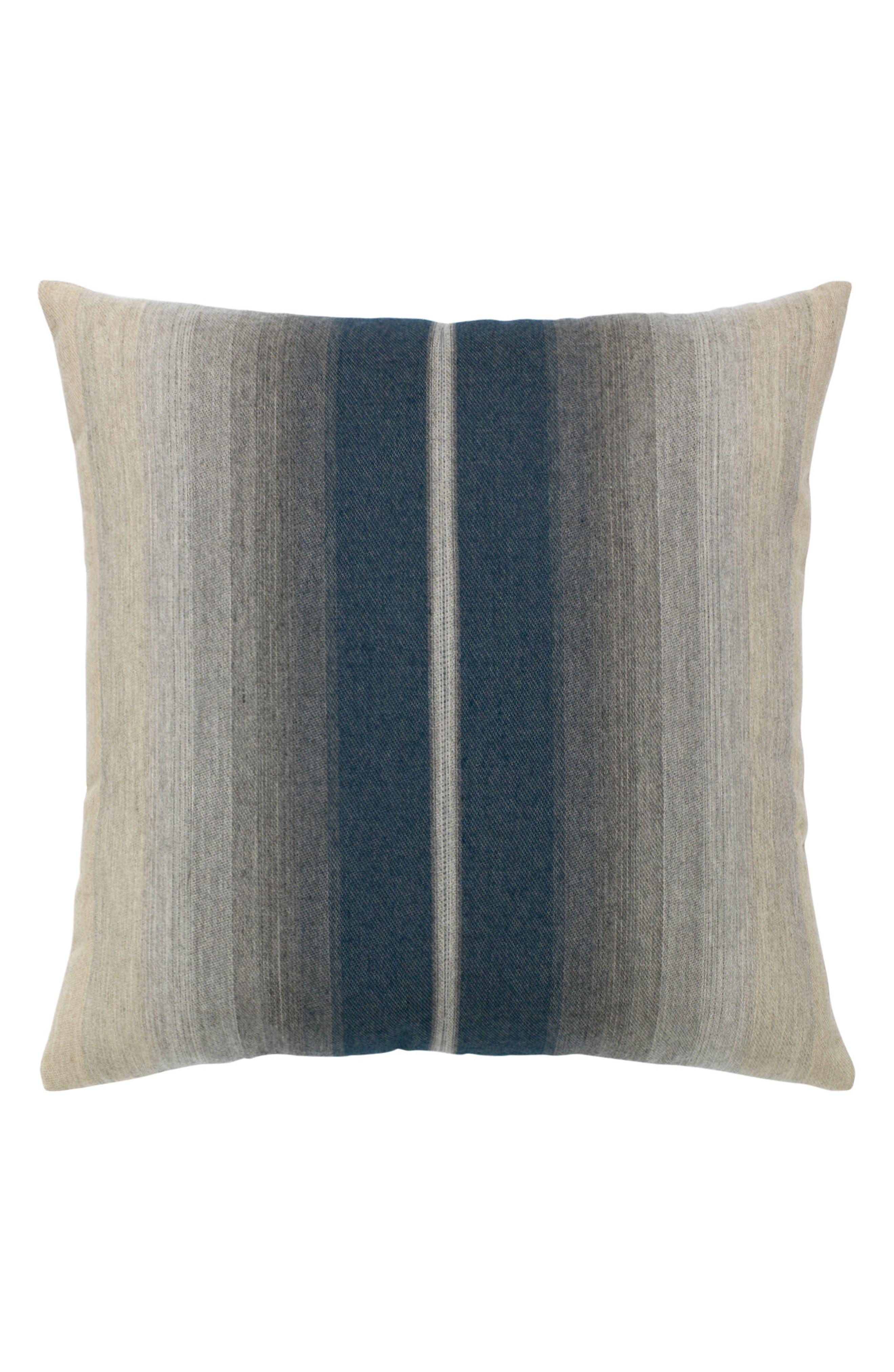 Ombré Indigo Indoor/Outdoor Accent Pillow,                             Main thumbnail 1, color,                             BLUE/ GREY