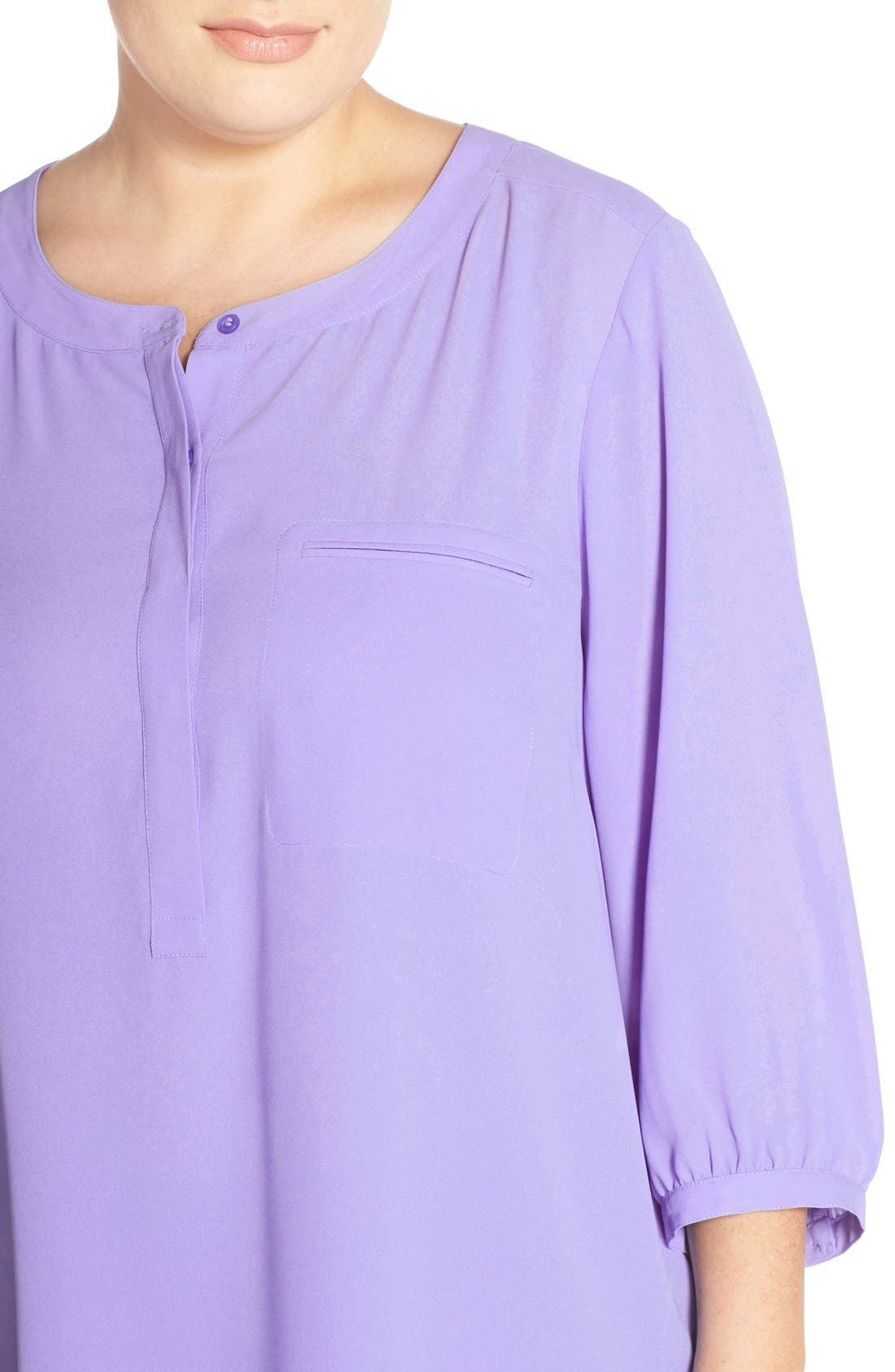 Henley Top,                             Alternate thumbnail 247, color,